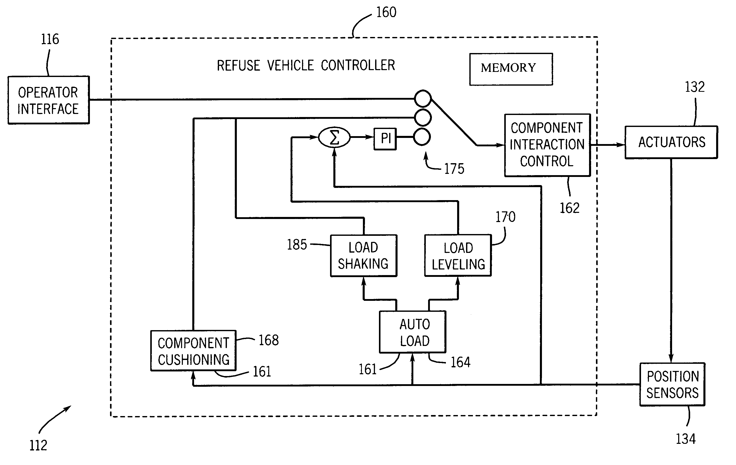 patent us7072745 refuse vehicle system and method patents