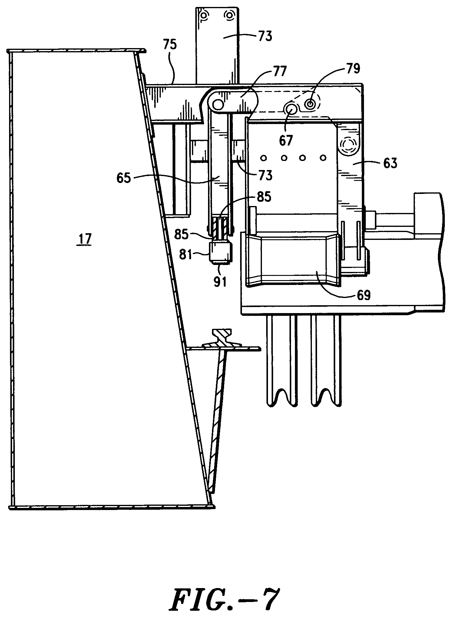 US07073673 20060711 D00007 patent us7073673 wire rope reeving support system for cargo wire rope reeving diagrams at crackthecode.co