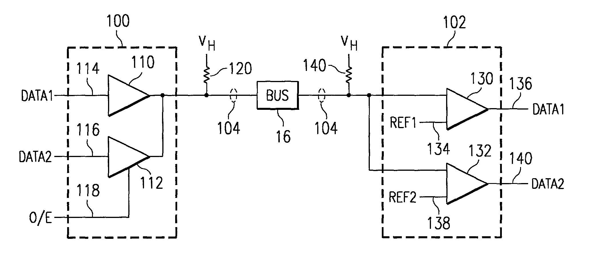 patent us7075976 - tri-state transmitter