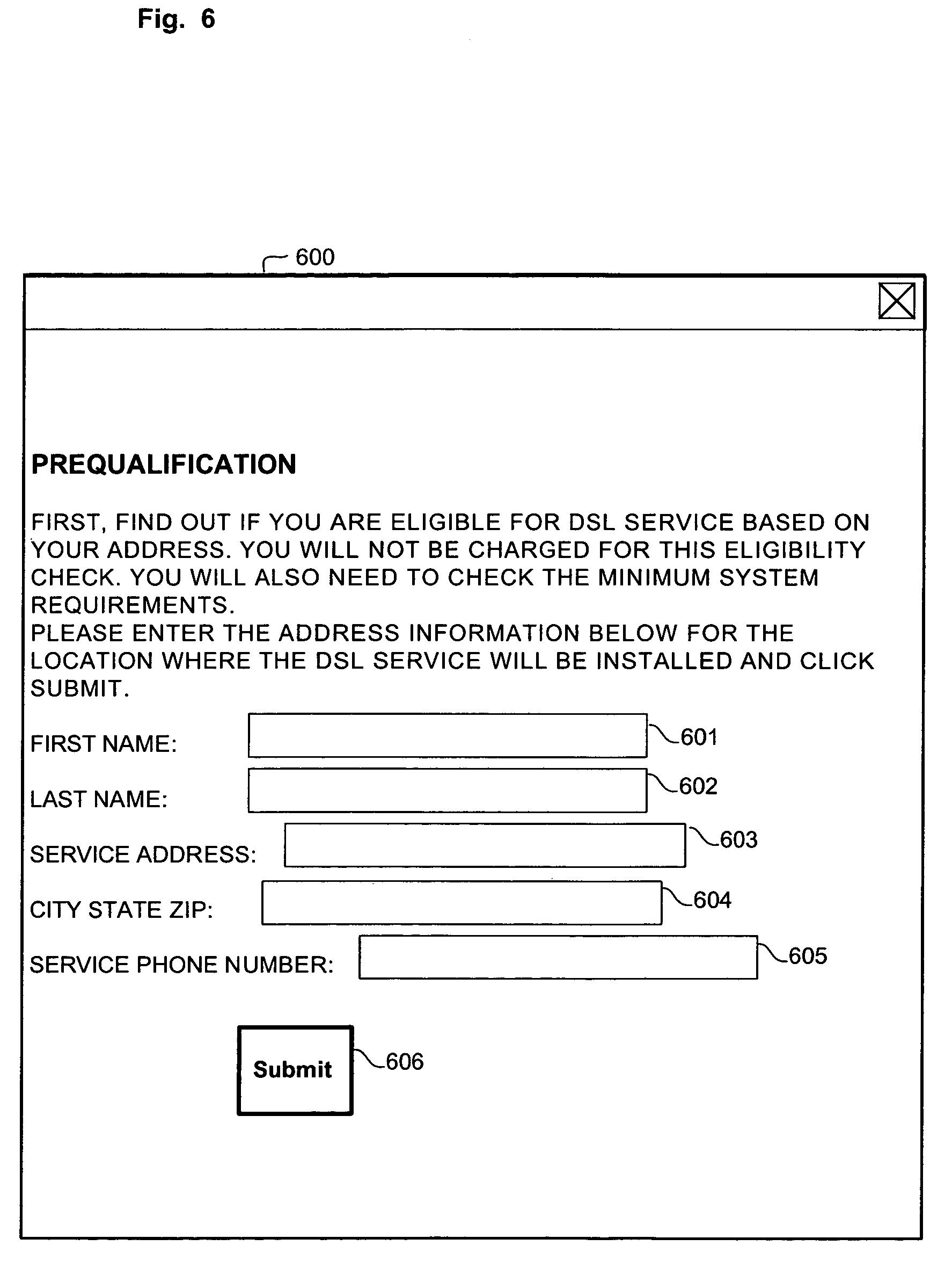 Patent US7076531 Broadband signoff Google Patents – Sign off Form