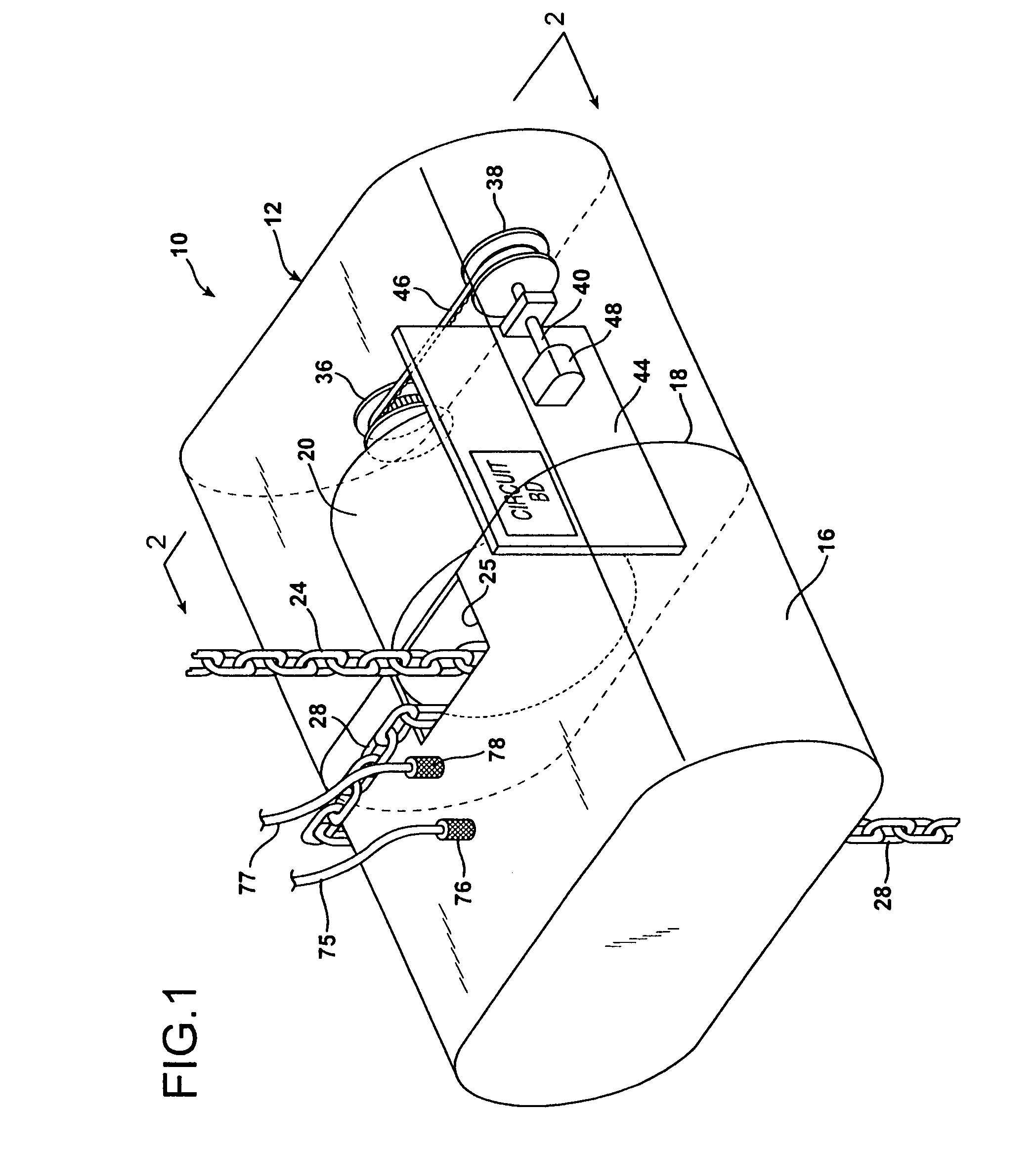 patent us7080824 - chain motor drive controller