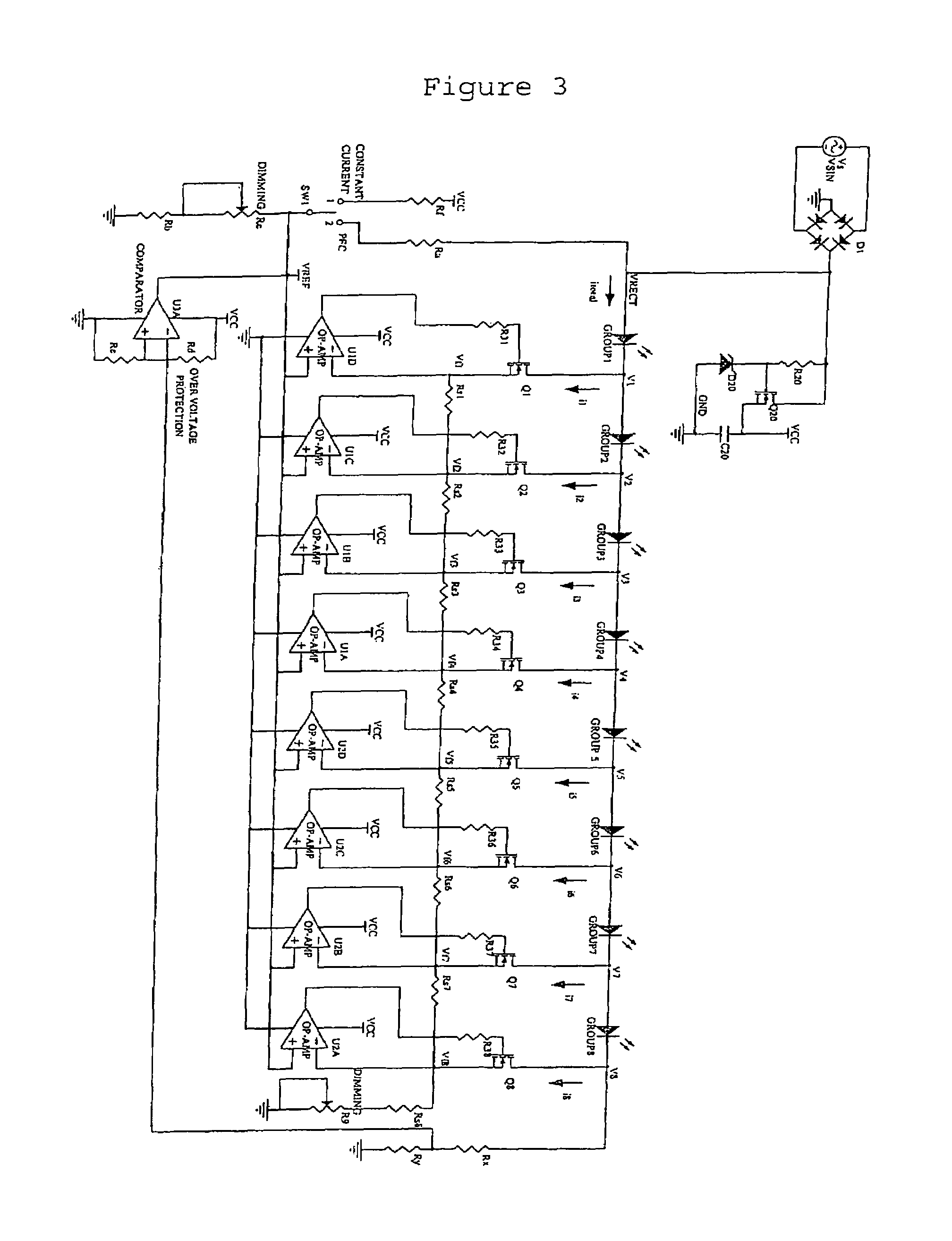 patent us7081722 - light emitting diode multiphase driver circuit and method