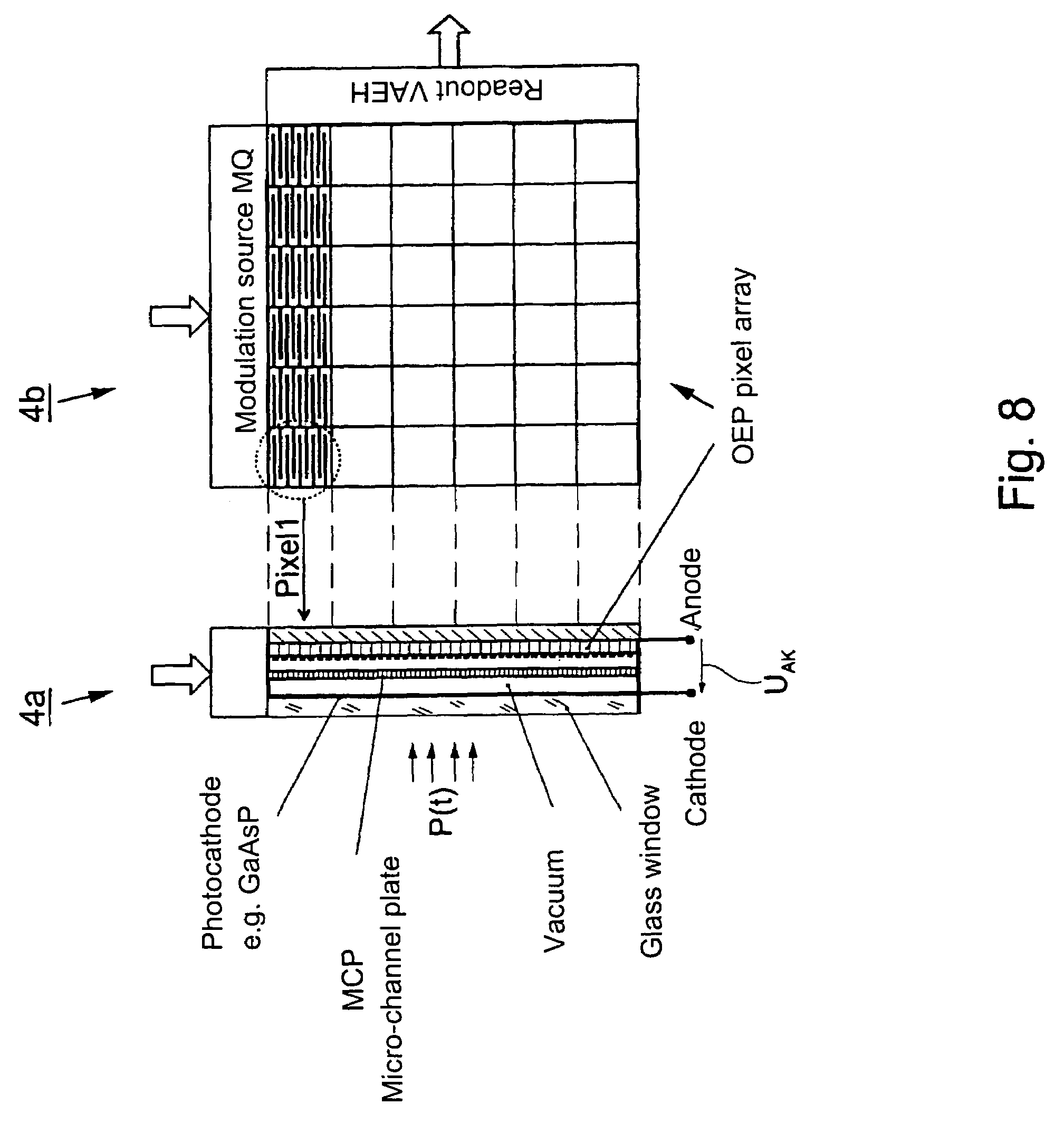 Patent Us7081980 Method And Device For Detecting Processing Compact Fourquadrant Lockin Amplifier Generates Two Analog Outputs Drawing
