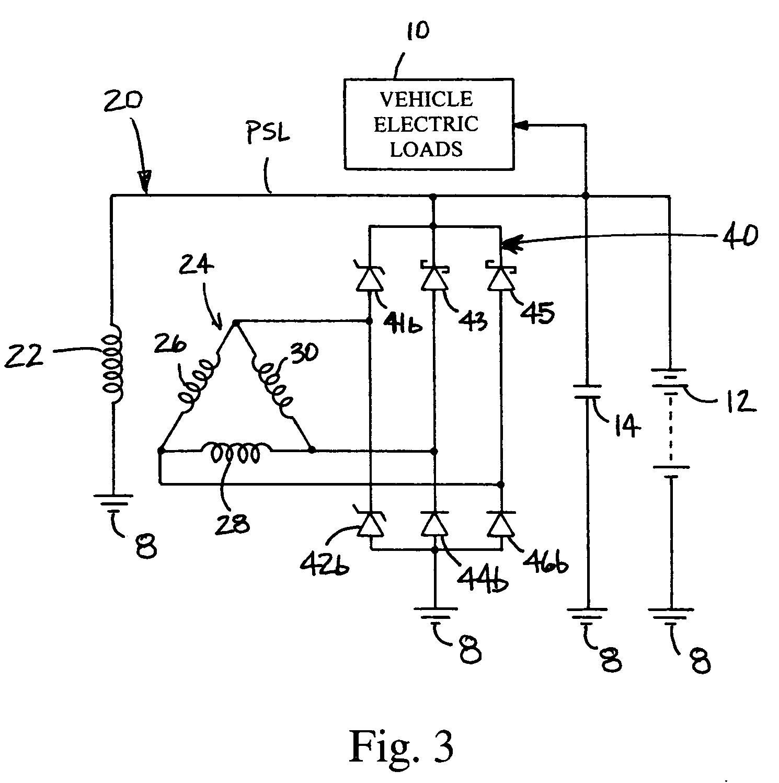Patent Us7084610 - Alternator Rectifier