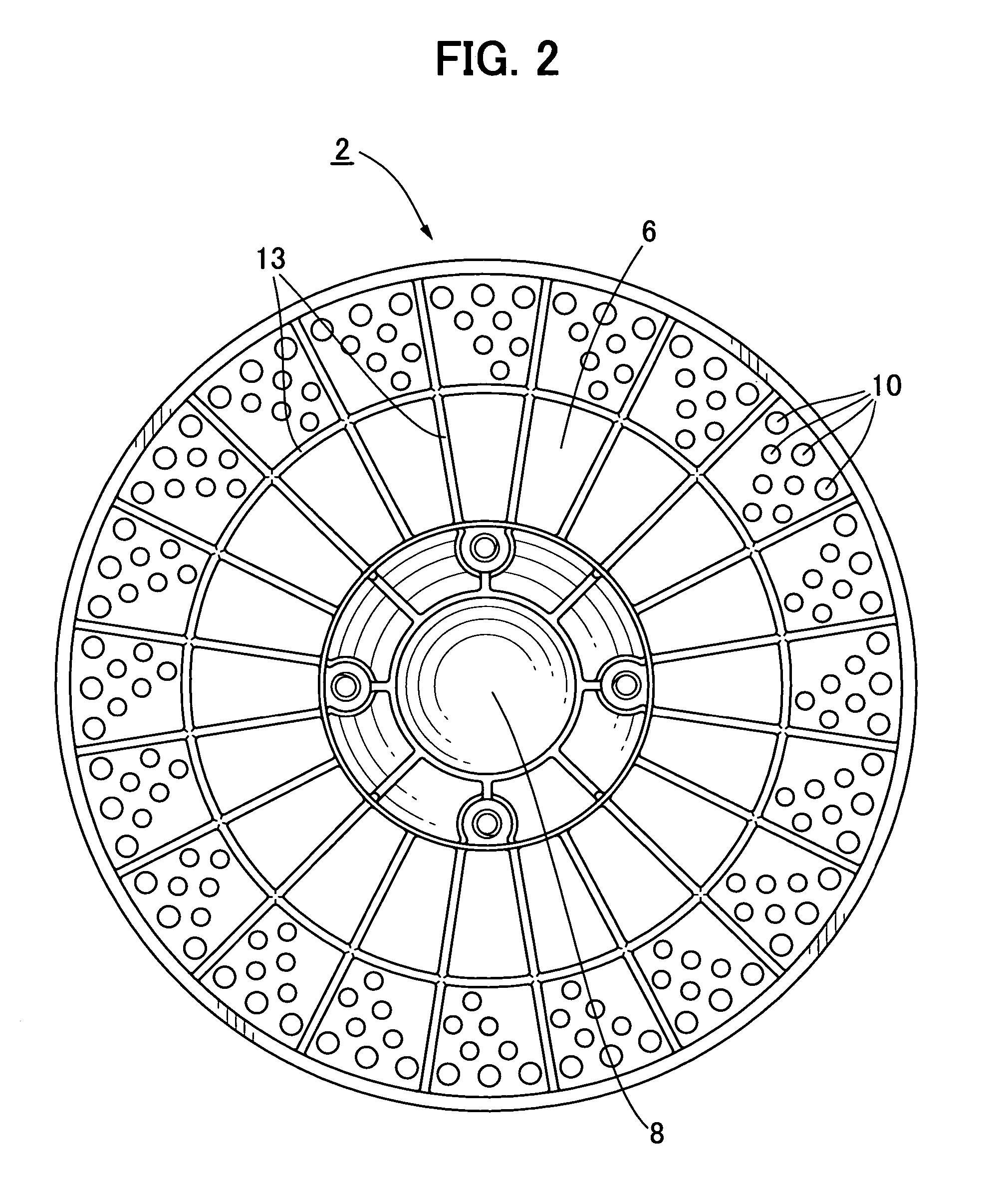 Centrifugal Fan Design : Patent us centrifugal blower fan google patents