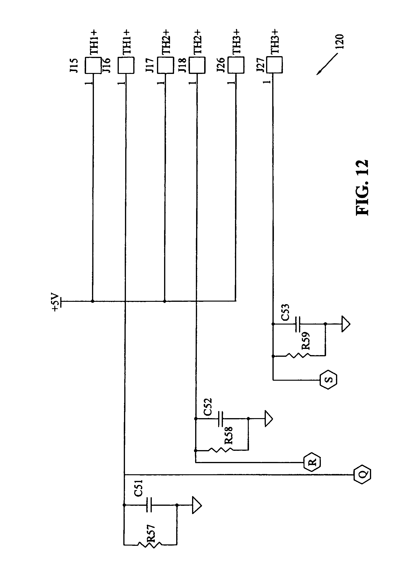 US07089088 20060808 D00013 patent us7089088 integrated hvacr control and protection system c17 thermostat wiring diagram at crackthecode.co