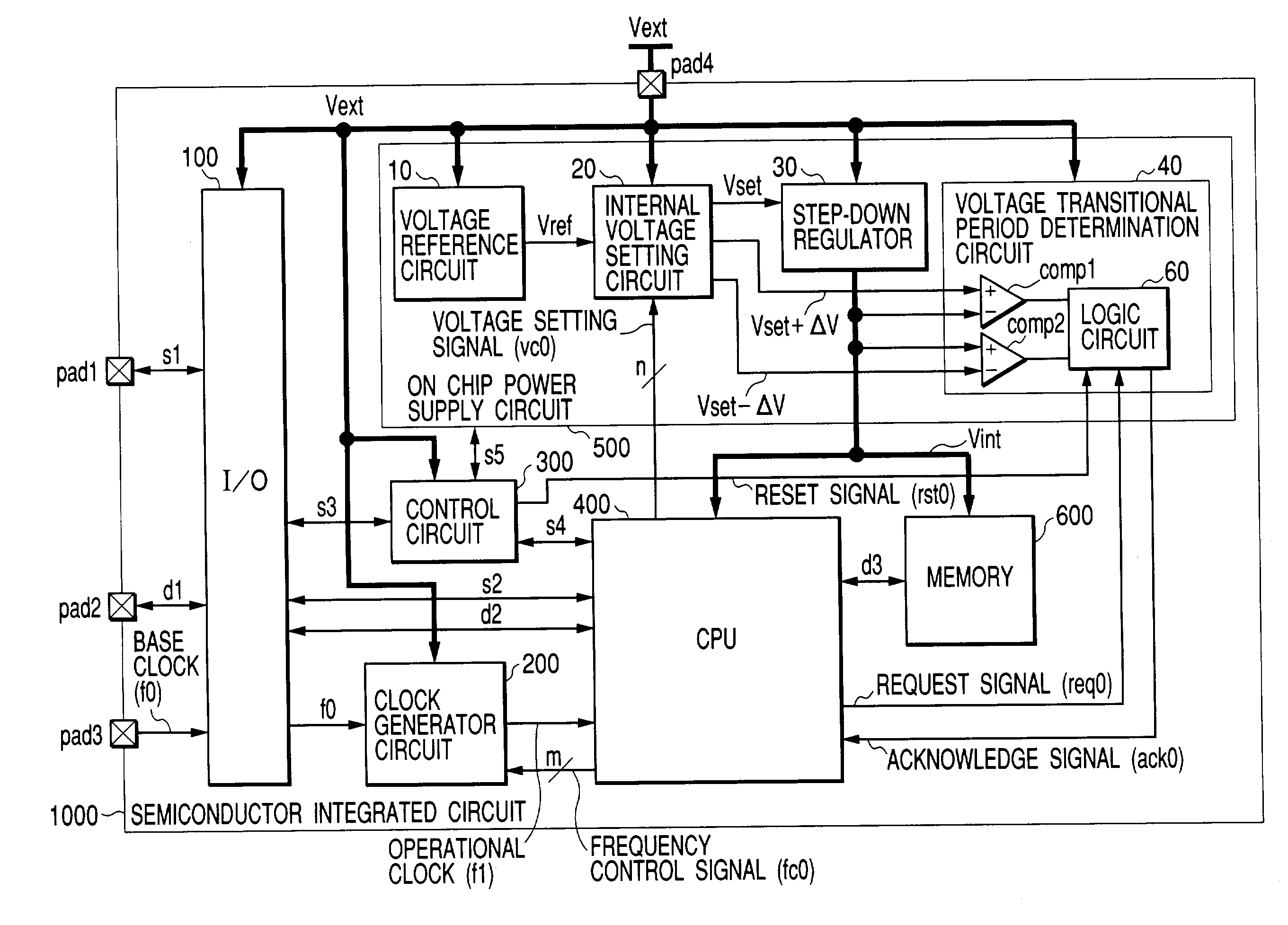 Patent Us7093143 Semiconductor Integrated Circuit Google Patents 480 Volt Generator Wiring Diagram Drawing