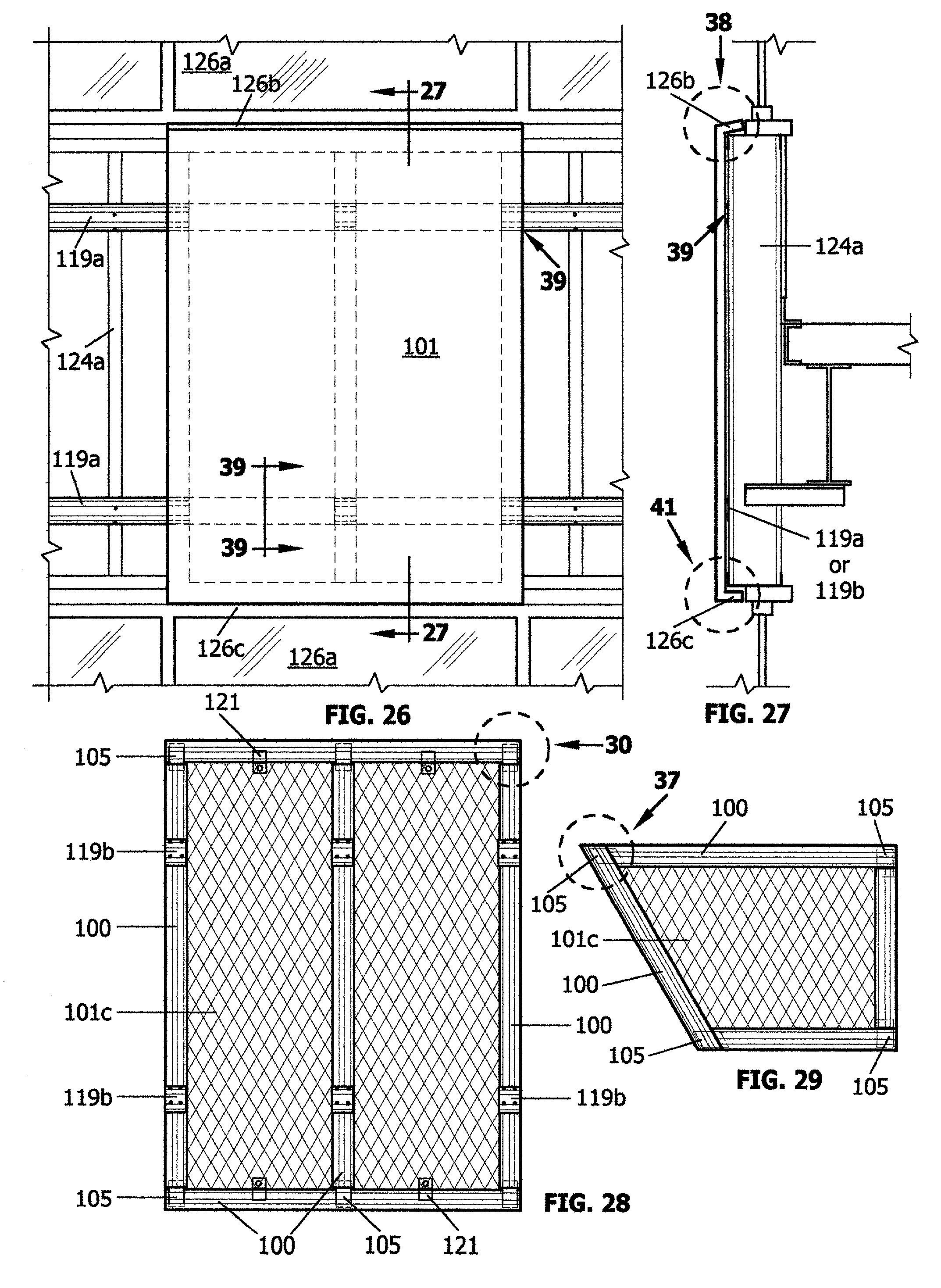 Stone marble granite exterior wall cladding view cladding wall - Patent Drawing