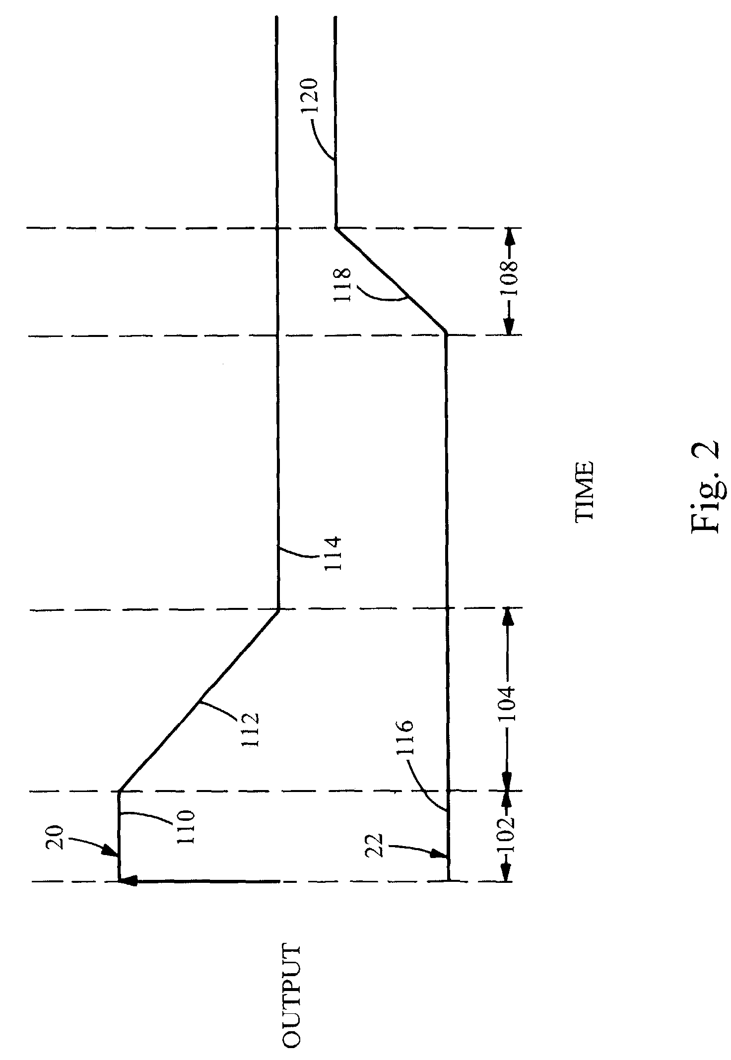 patent us7107024 - fm modulator output control during turn on