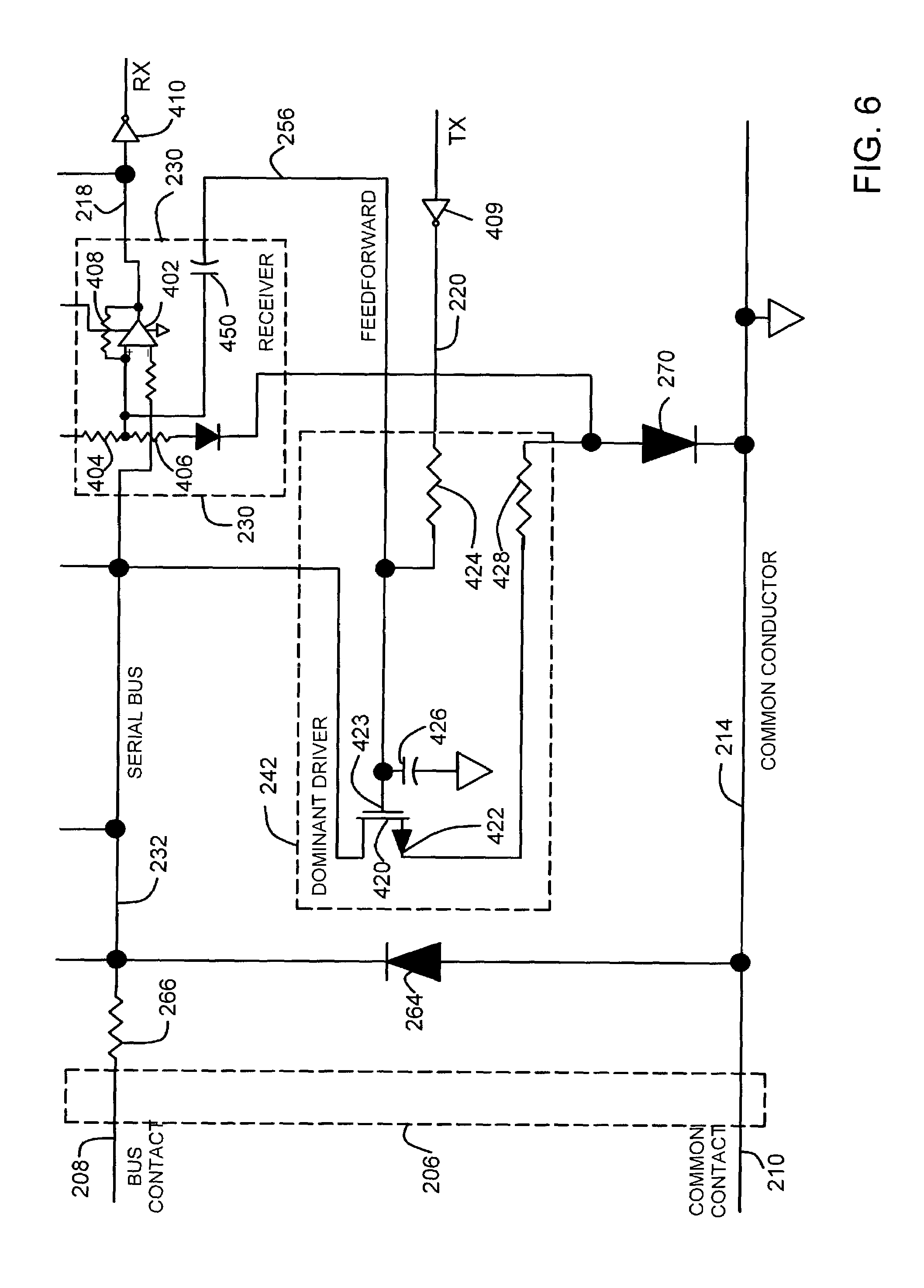 US07109883 20060919 D00006 patent us7109883 low power physical layer for a bus in an rosemount model 56 wiring diagram at mifinder.co