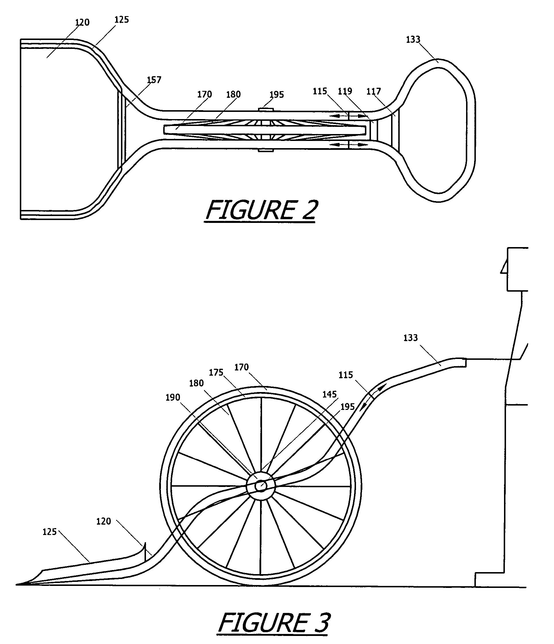 patent us7111418 wheeled shovel patents Wide Square Shovel patent drawing