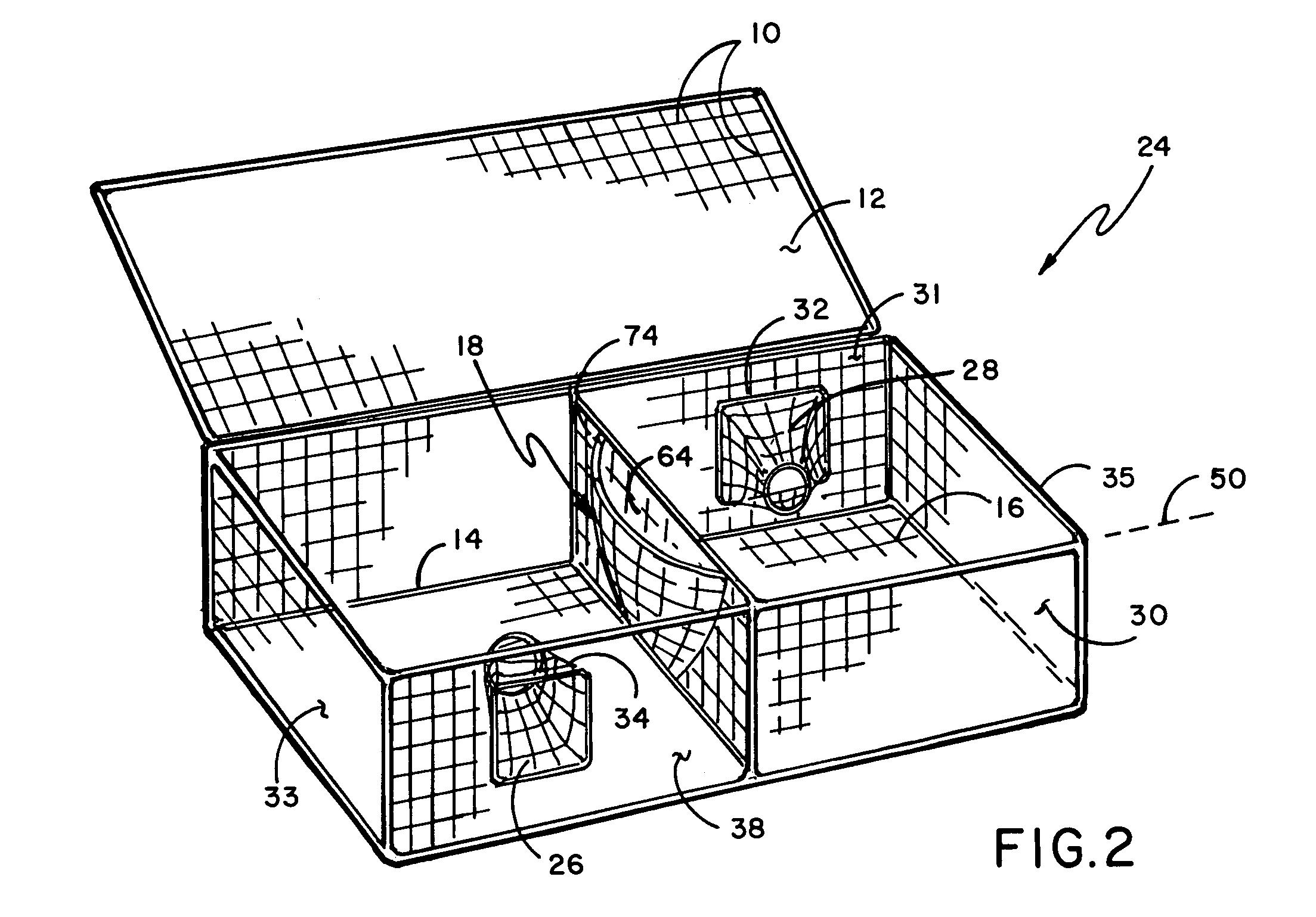lobster trap diagram lobster house