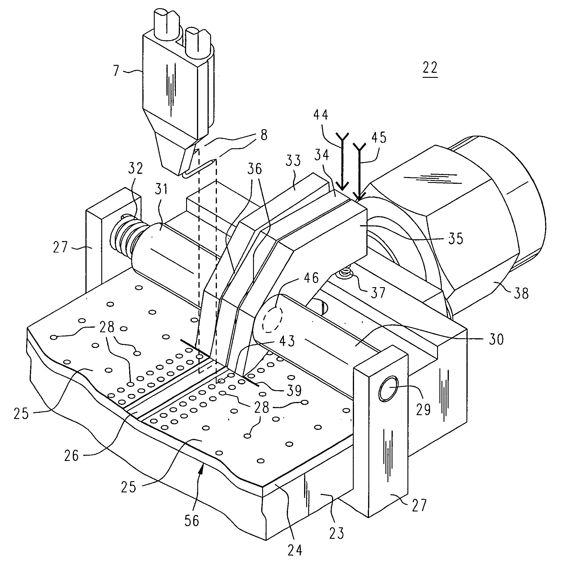 Patent Us7116120 Clamping Test Fixture For A High Frequency