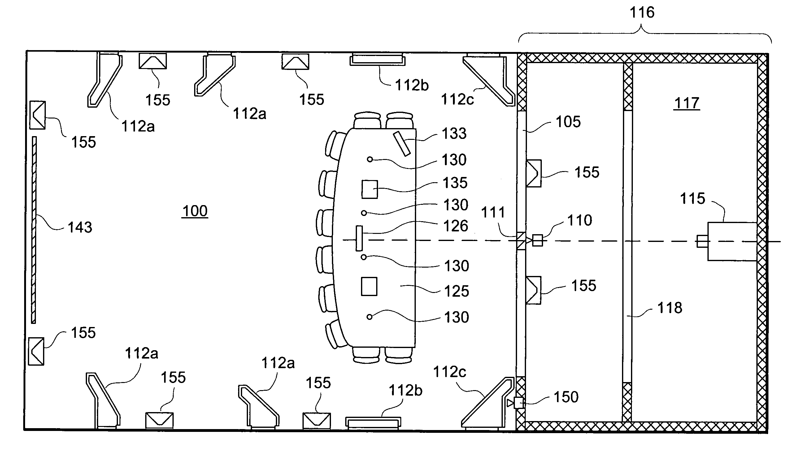 patent us7119829 virtual conference room google patents