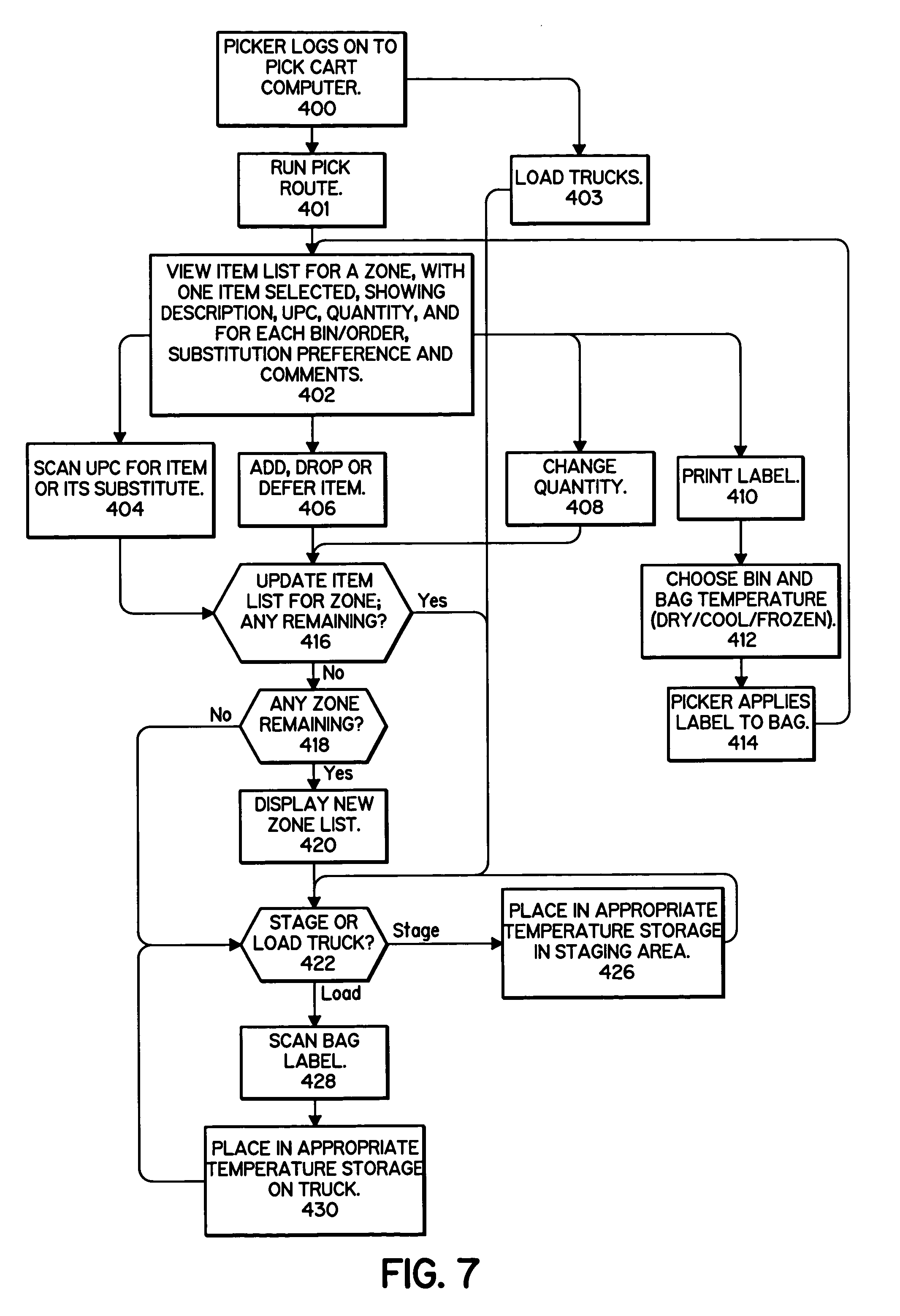 Patent us7124098 online shopping system google patents for Us websites for online shopping