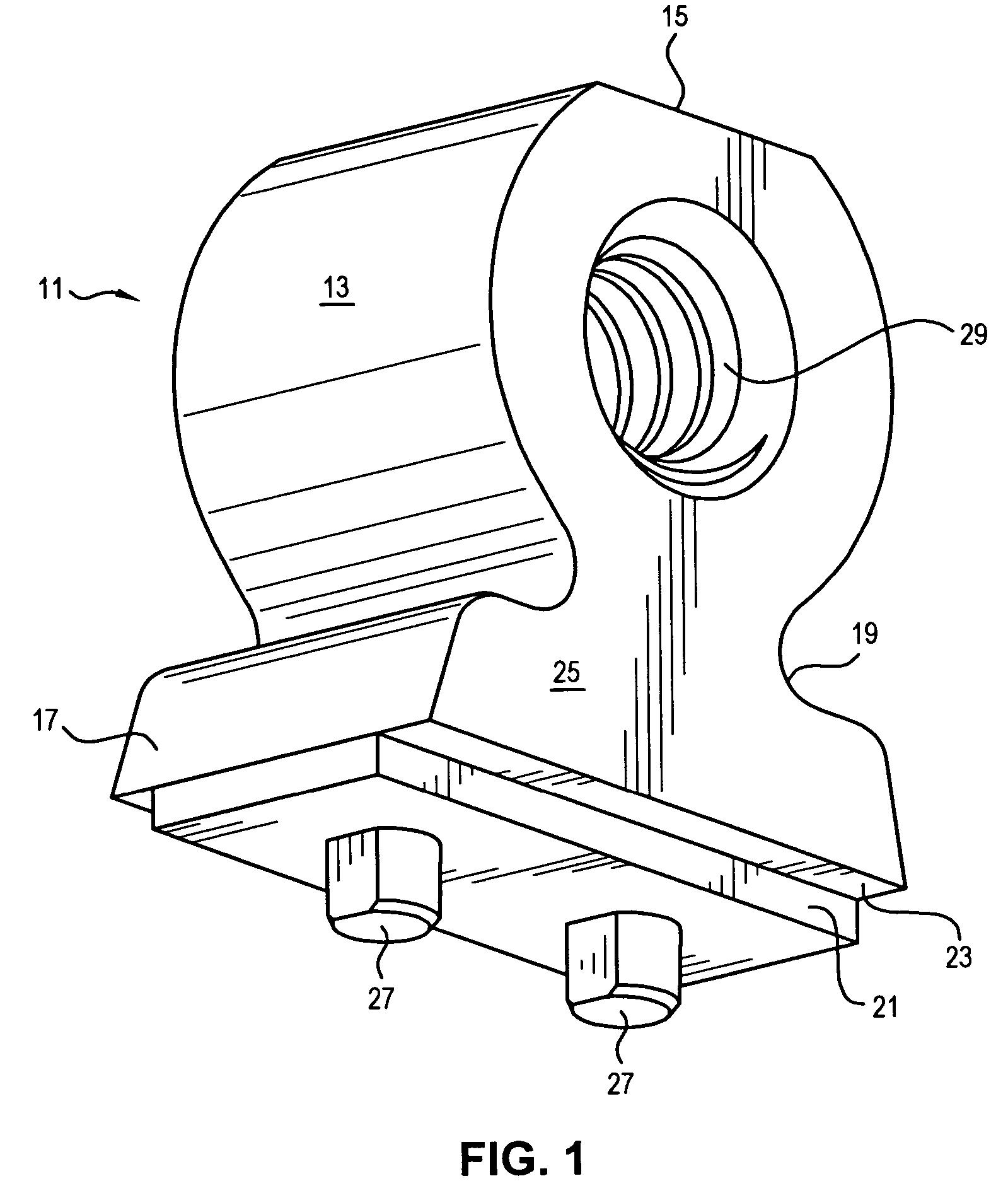 patent us7125294 - circuit board mounting bracket