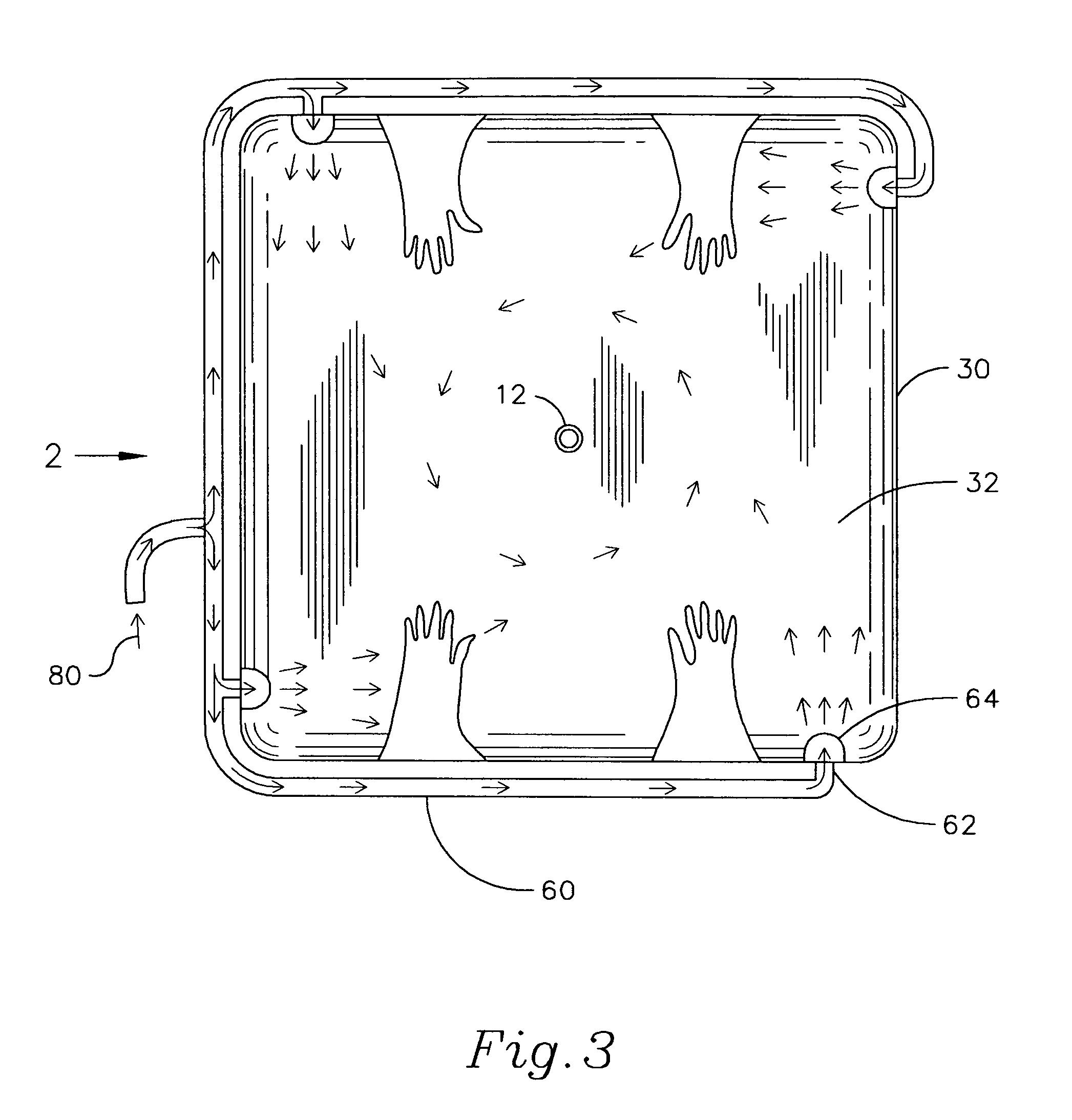 patent us7129436 - laminar-vortex welding chamber