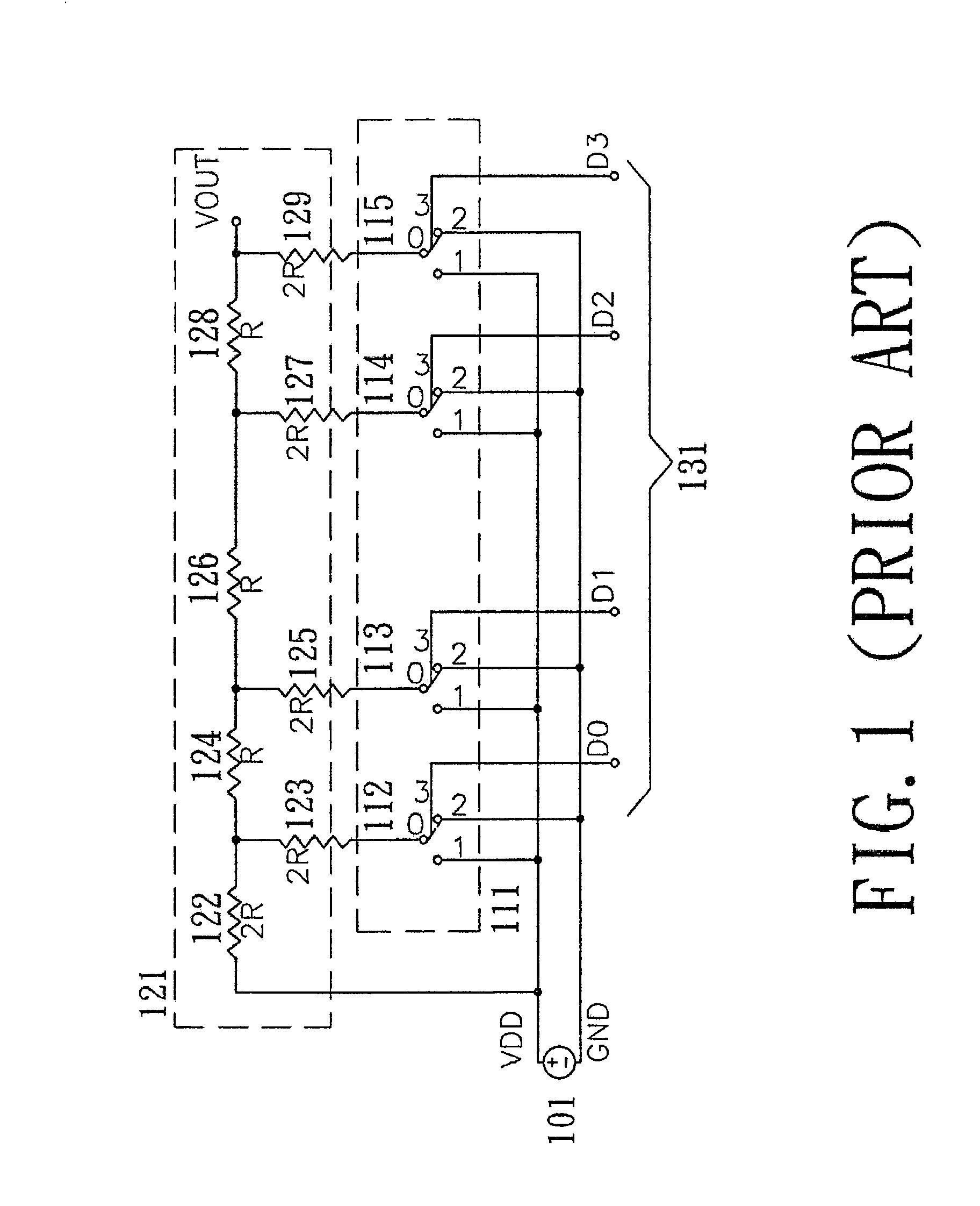 Patent Us7129878 Digital To Analog Converter Google Patents R 2r Ladder Circuit Diagram Drawing