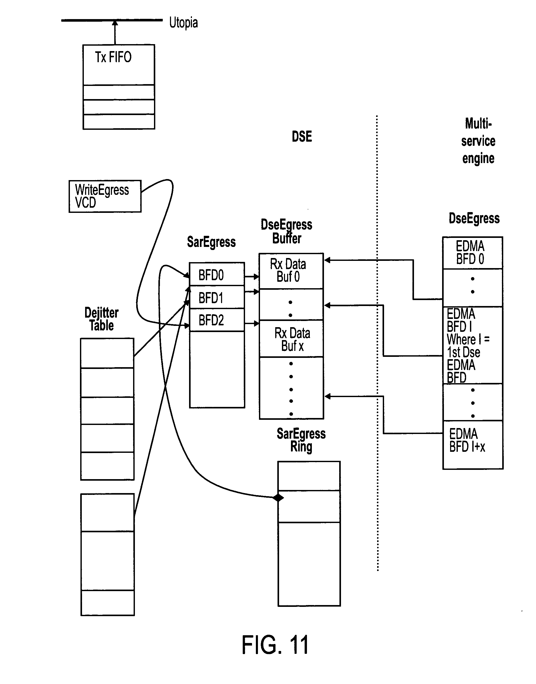 US07133417 20061107 D00011 patent us7133417 multipath voice switching method and apparatus dse702 wiring diagram at readyjetset.co