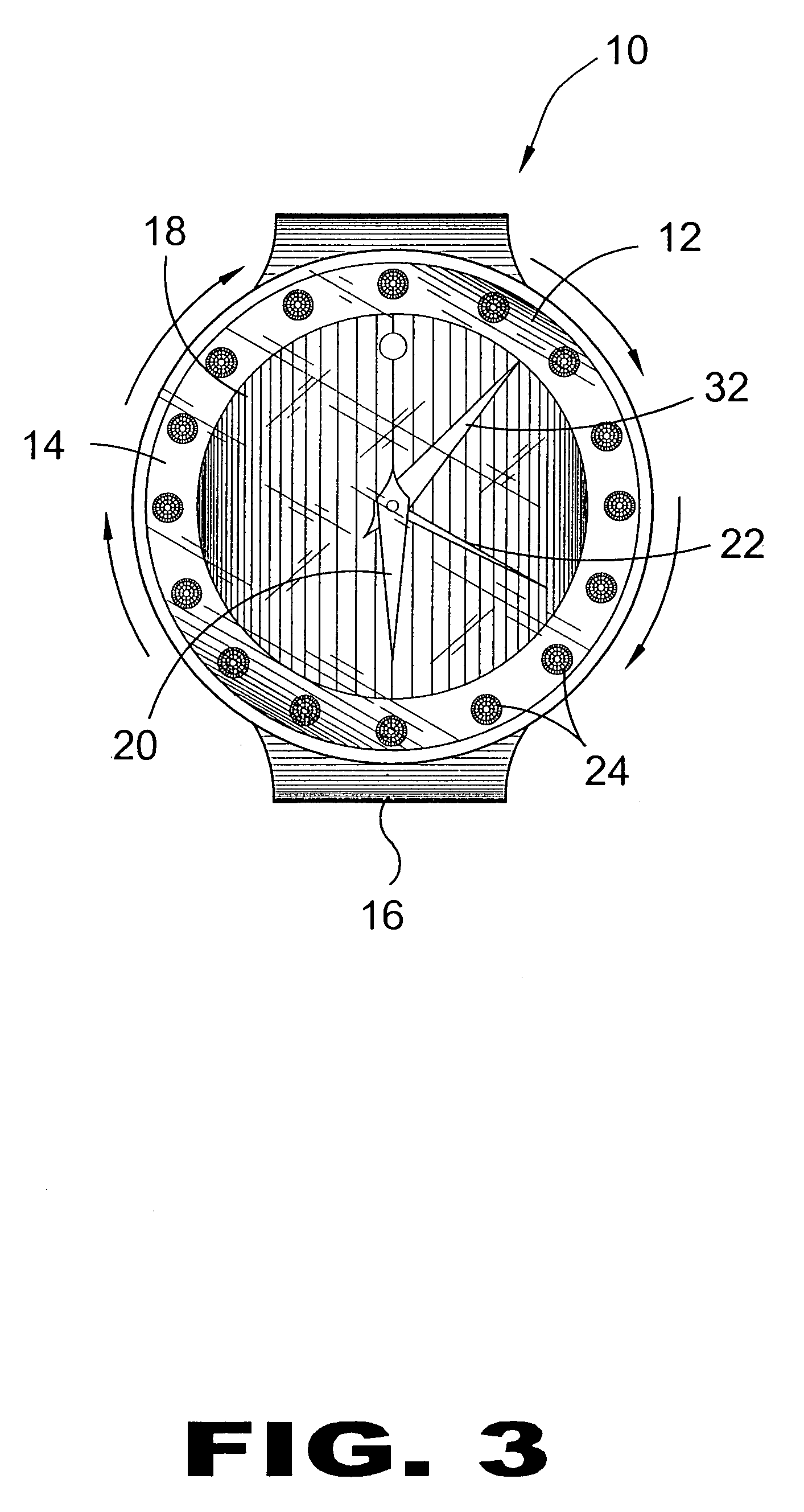 patent us7134784 rotating bezel watch google patents