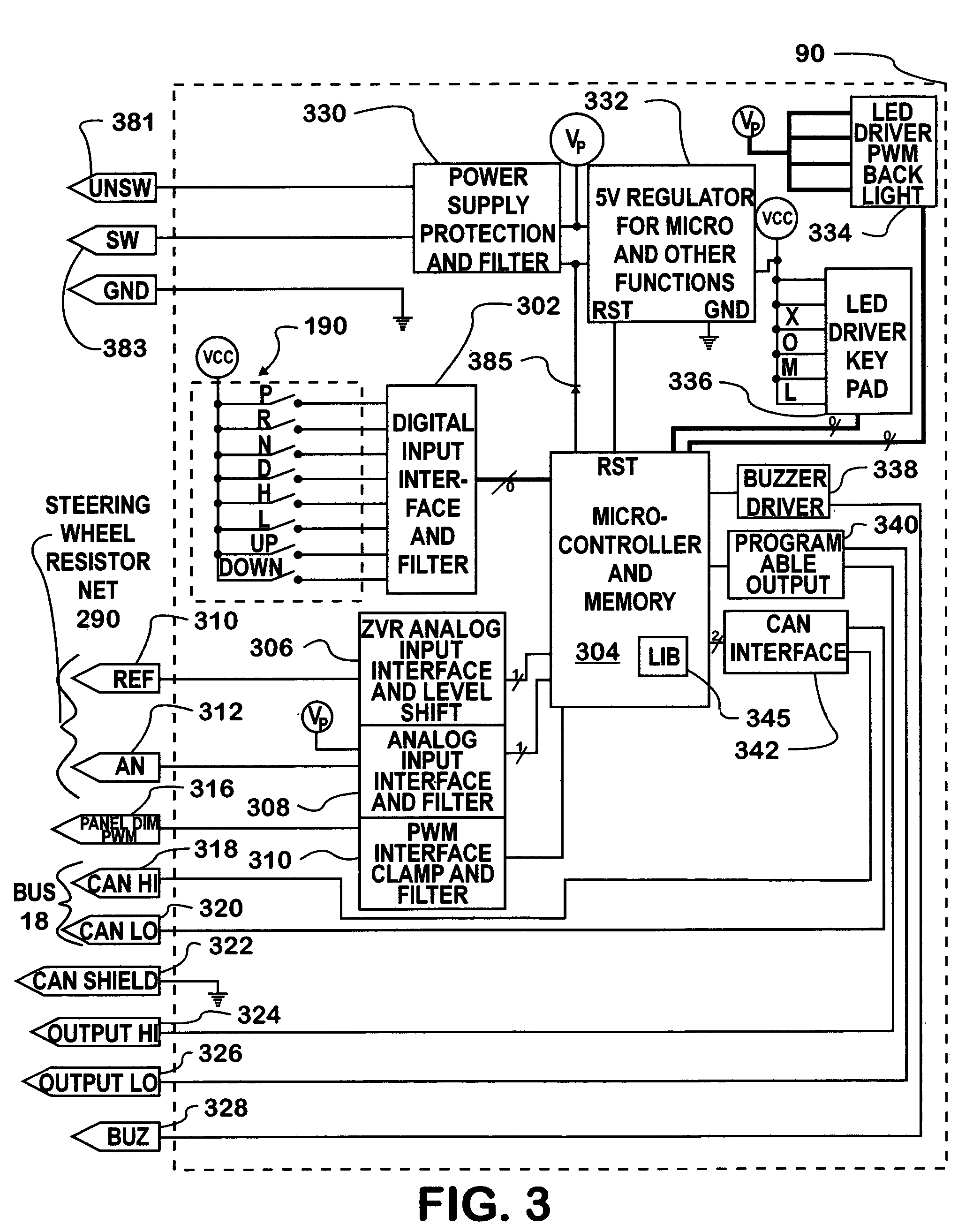 patent us7139653 - common control interface for diverse automated manual transmissions