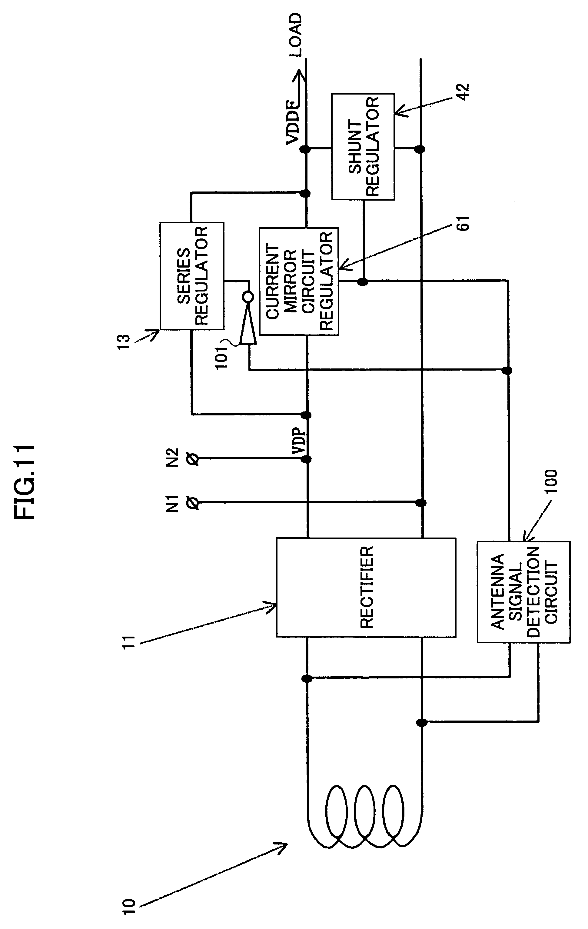 Patent Us7141939 Power Supply Circuit That Is Stable Against Rectifier Regulator Schematic Drawing