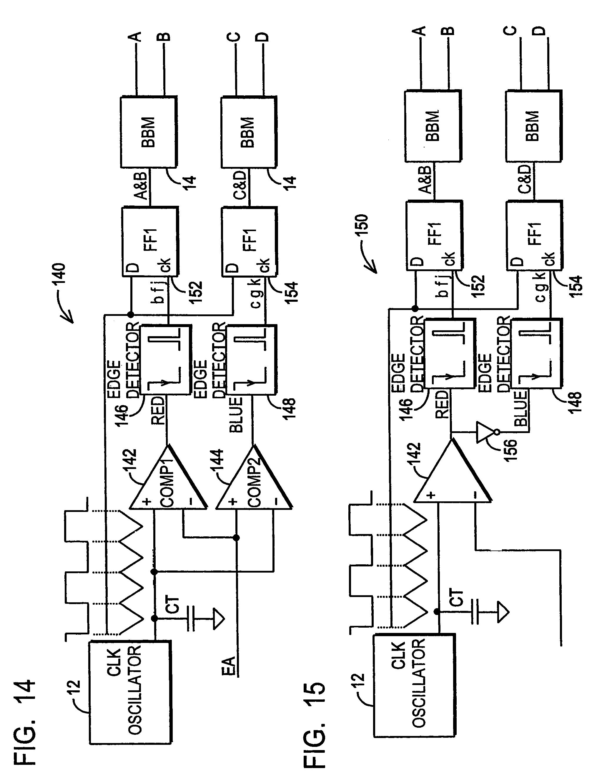 Patent Us7151394 Phase Shifting And Pwm Driving Circuits Shift Oscillator Circuit Using Transistor Image Drawing