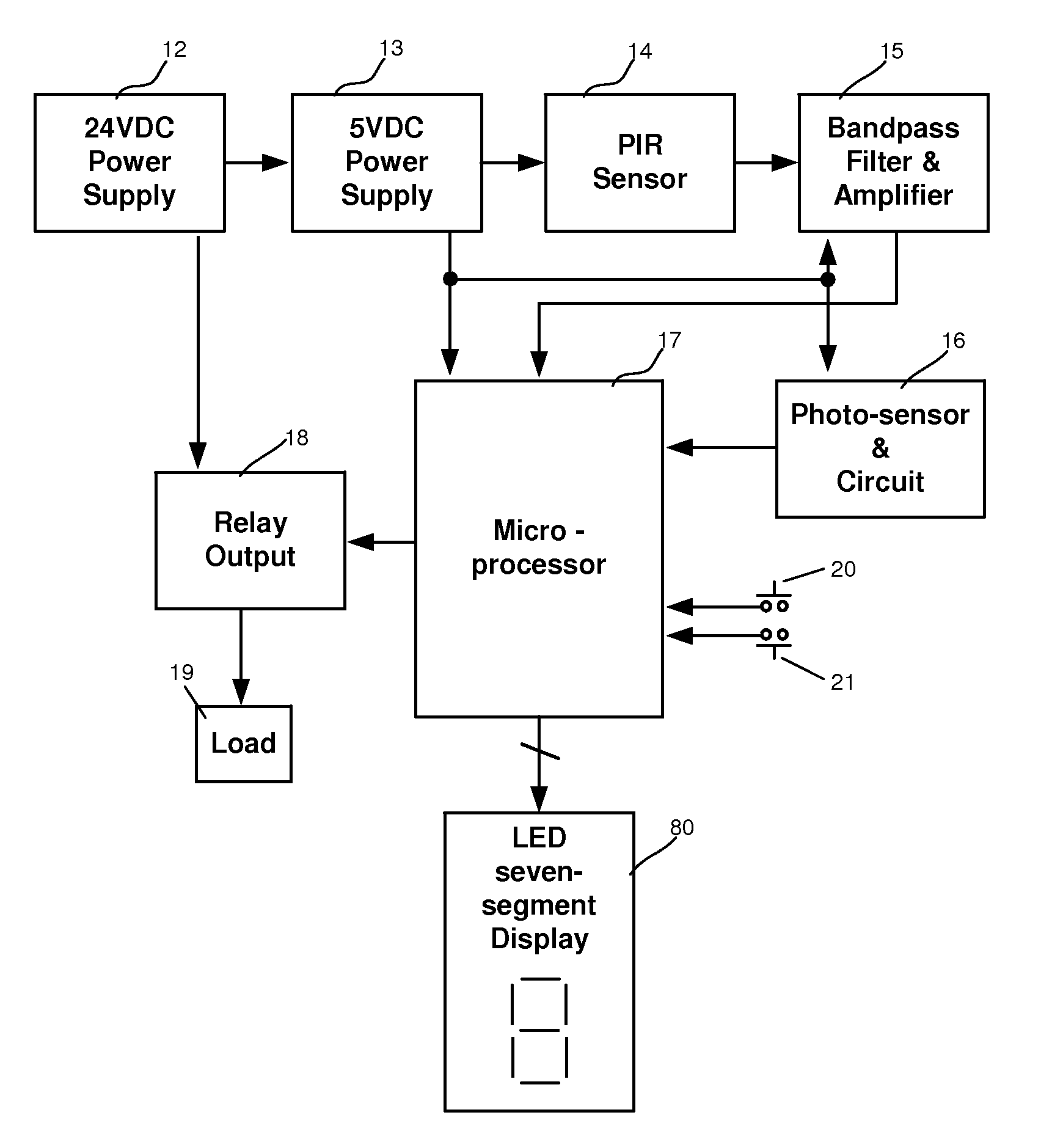 Patent Us7155317 Occupant Counter Control Switch For Automatic Diagram Moreover Pir Sensor Circuit On Wiring In Home Drawing