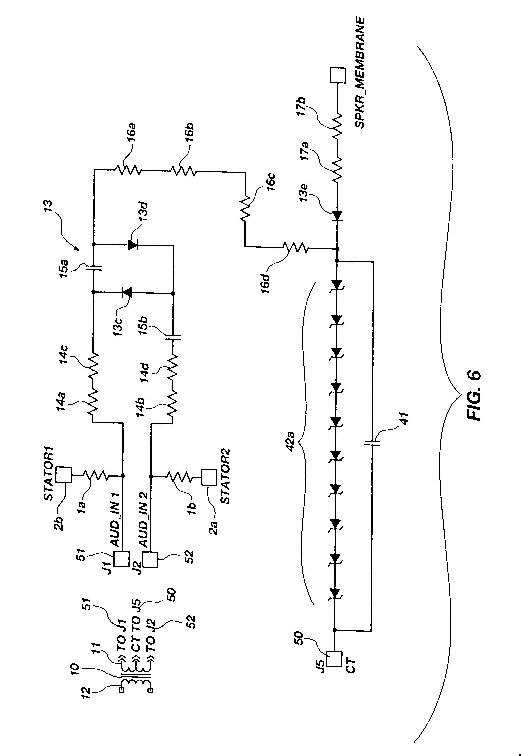 patent us7158646 - signal derived bias supply for electrostatic loudspeakers