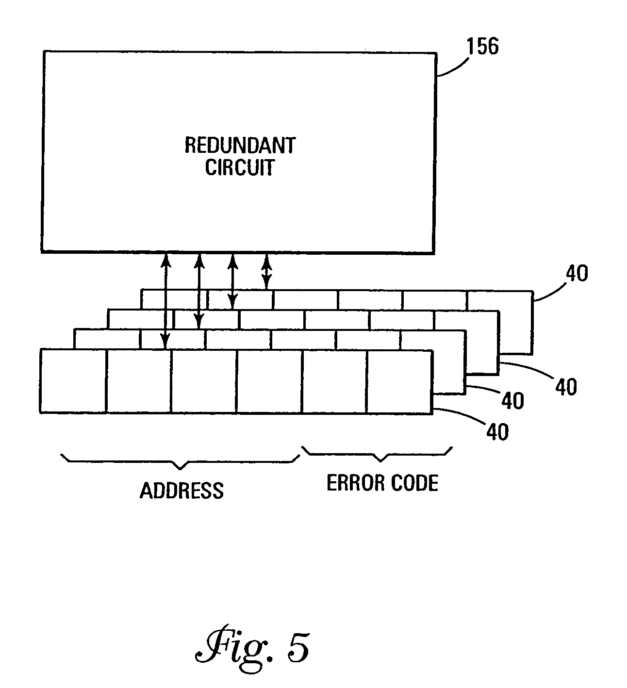 patent us7168013 - memory with element redundancy