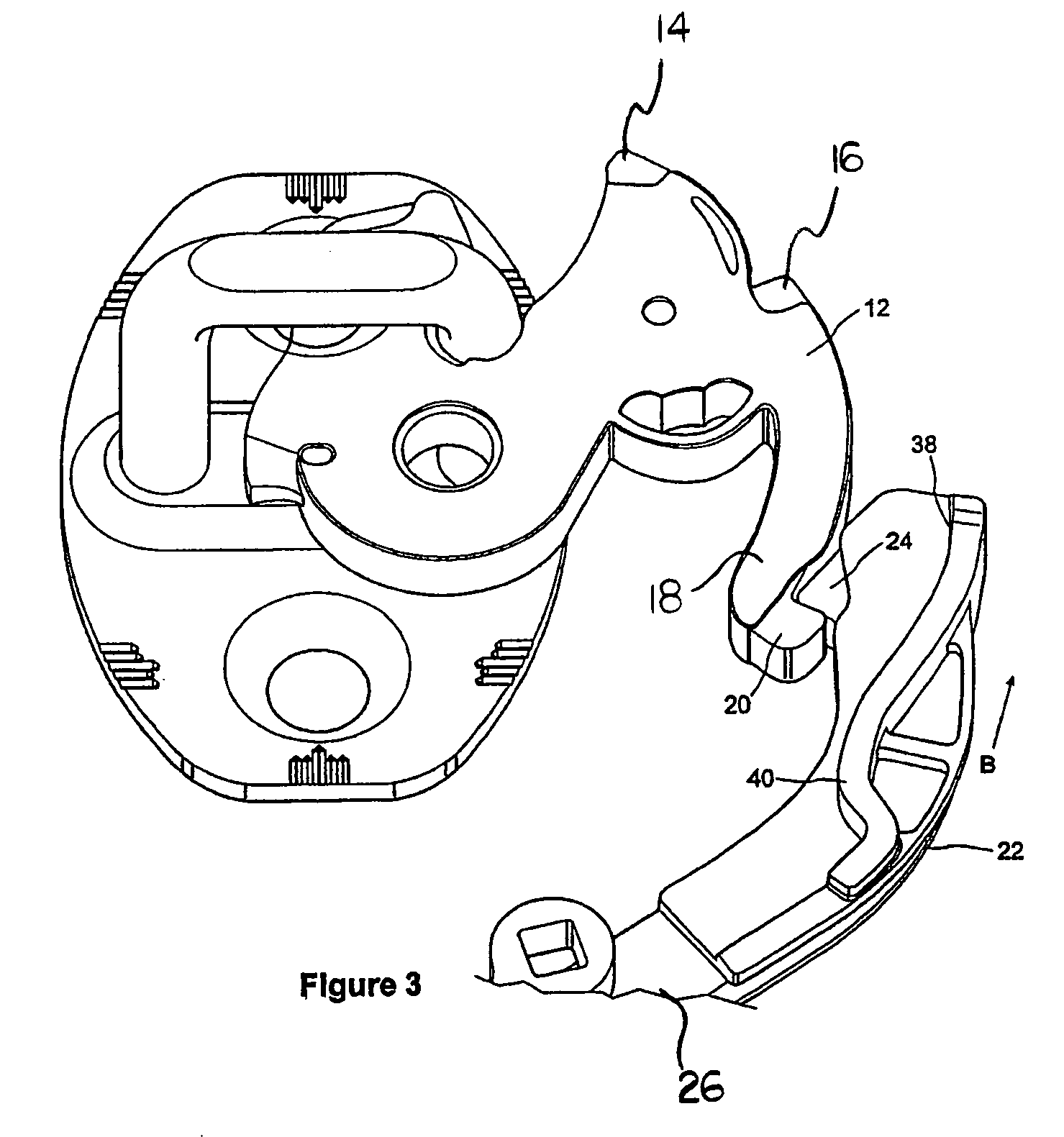 patent us7175212 latch having releasable cinching mechanism Automotive Windo Latch Door Latch patent drawing