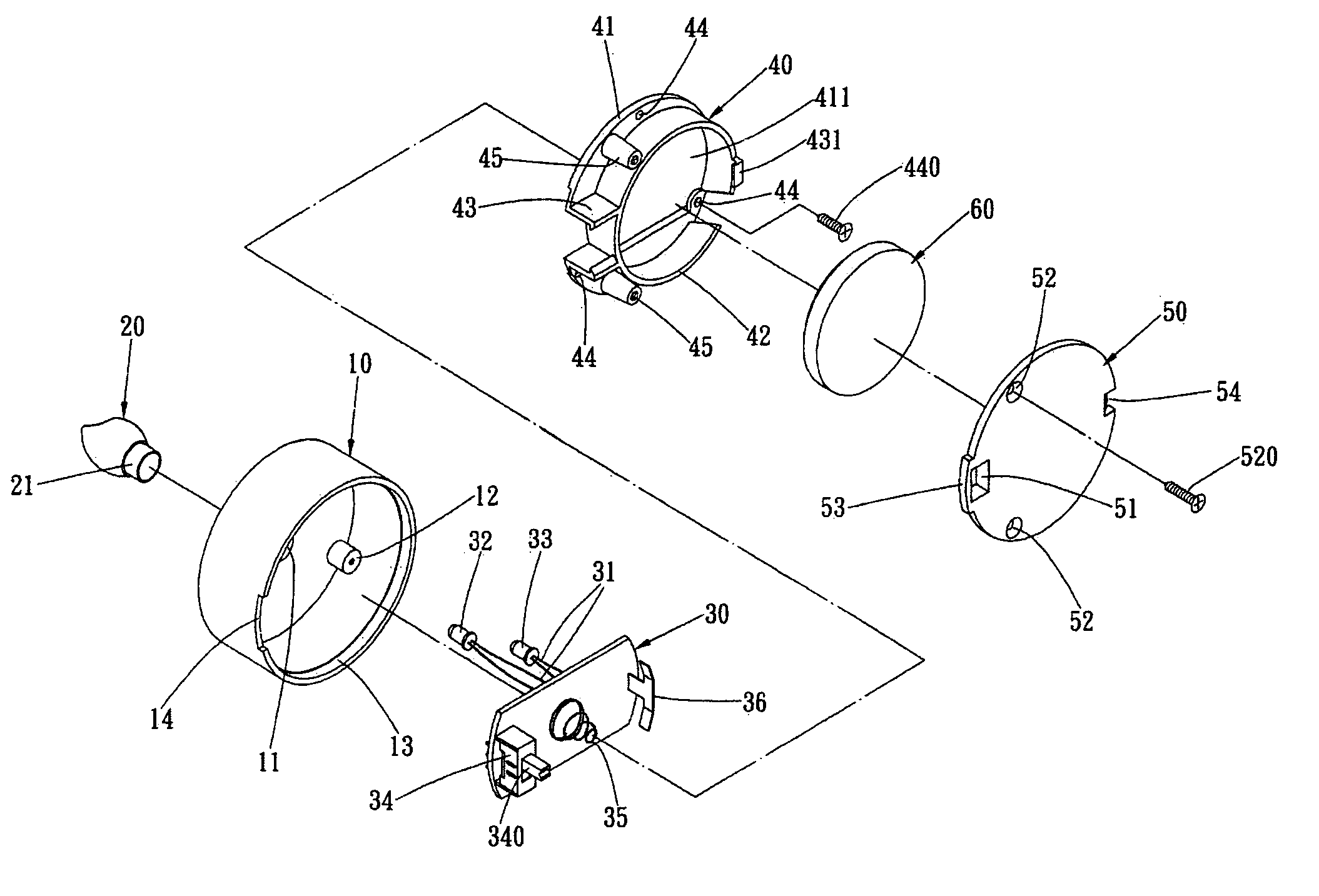 patent us7178939 - electronic simulation candle
