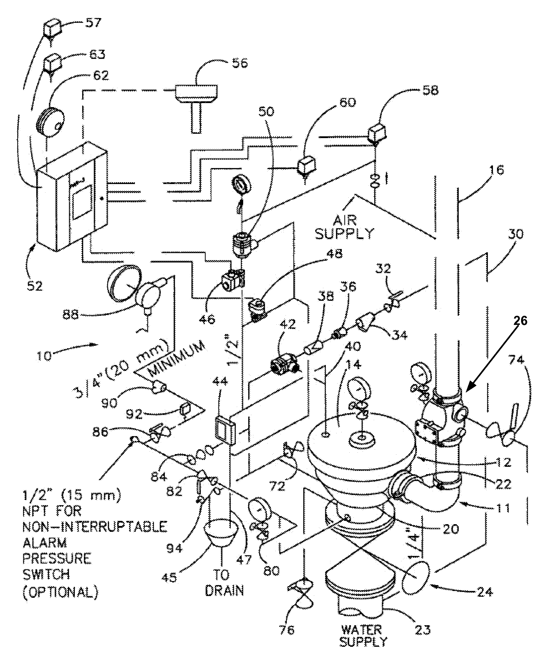 patent us7185711 - fire protection system