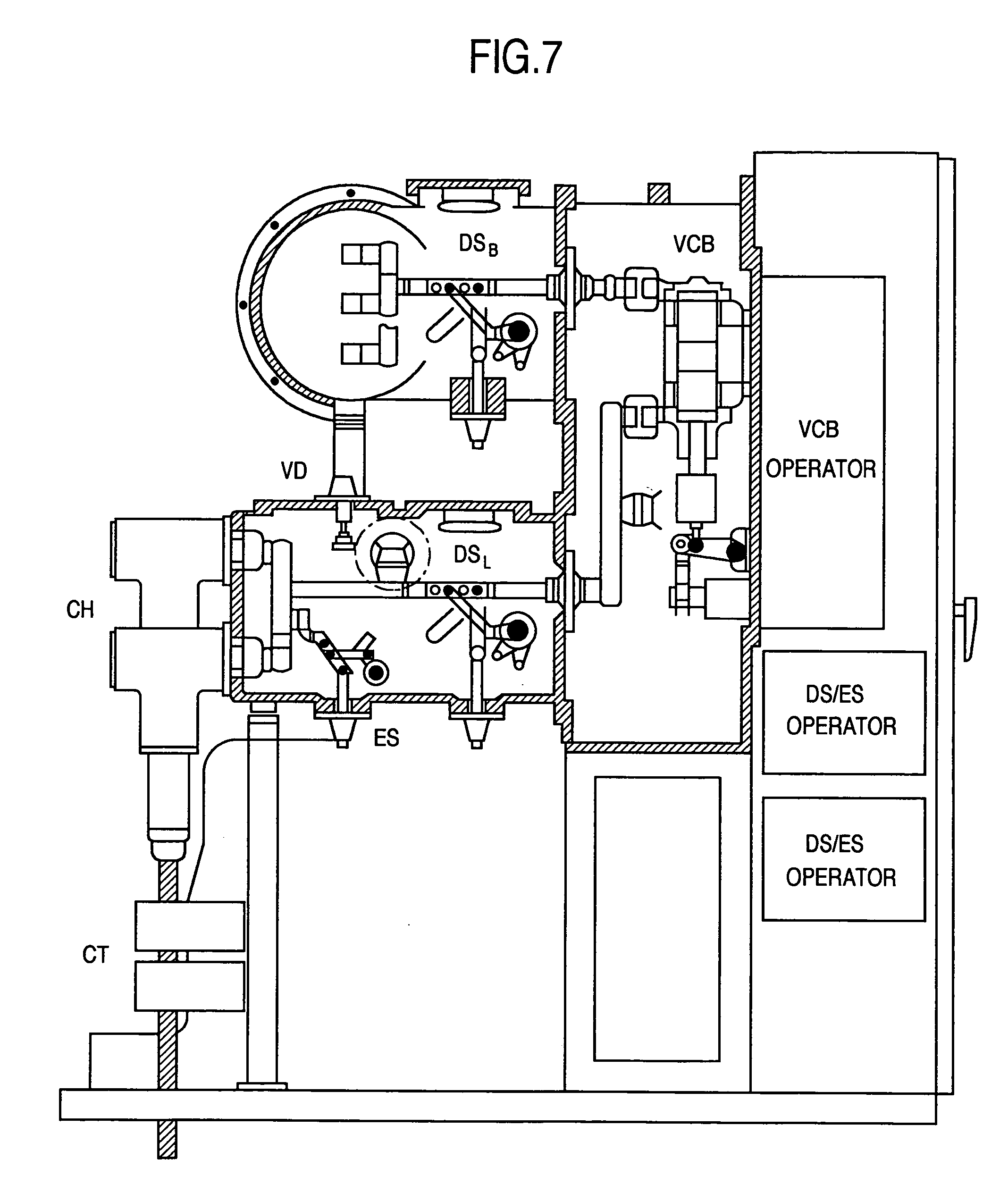 Patent Us7193172 Gas Insulated Switchgear Tank Google Patents Operator For A Circuit On Wiring Diagram Of Vacuum Breaker Drawing