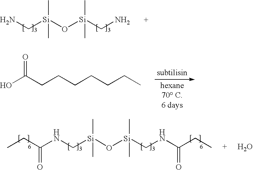 Patent US7205373 - Enzyme catalyzed organosilicon esters and ...