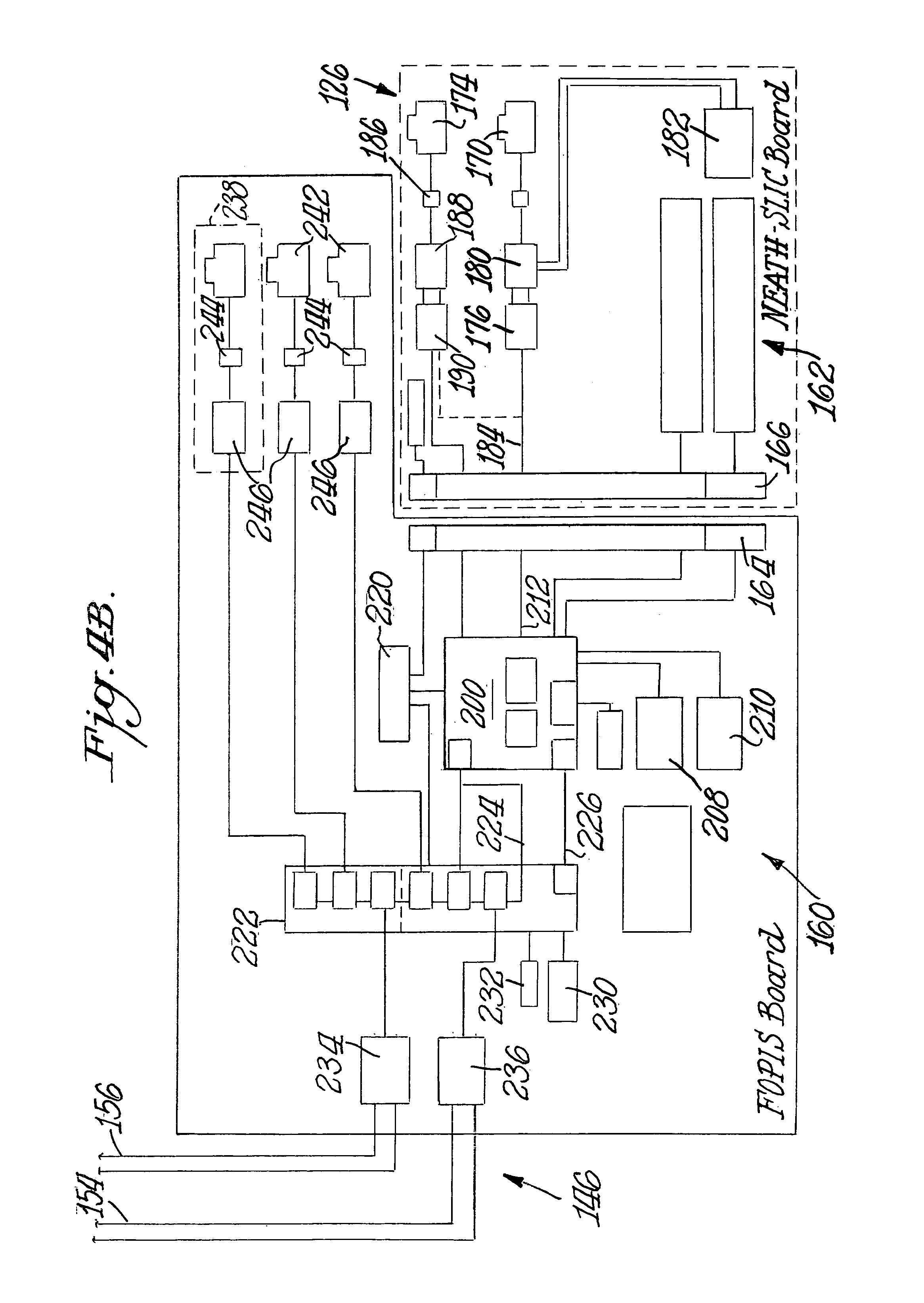 patent us7206392 - fiber optic premise wiring system