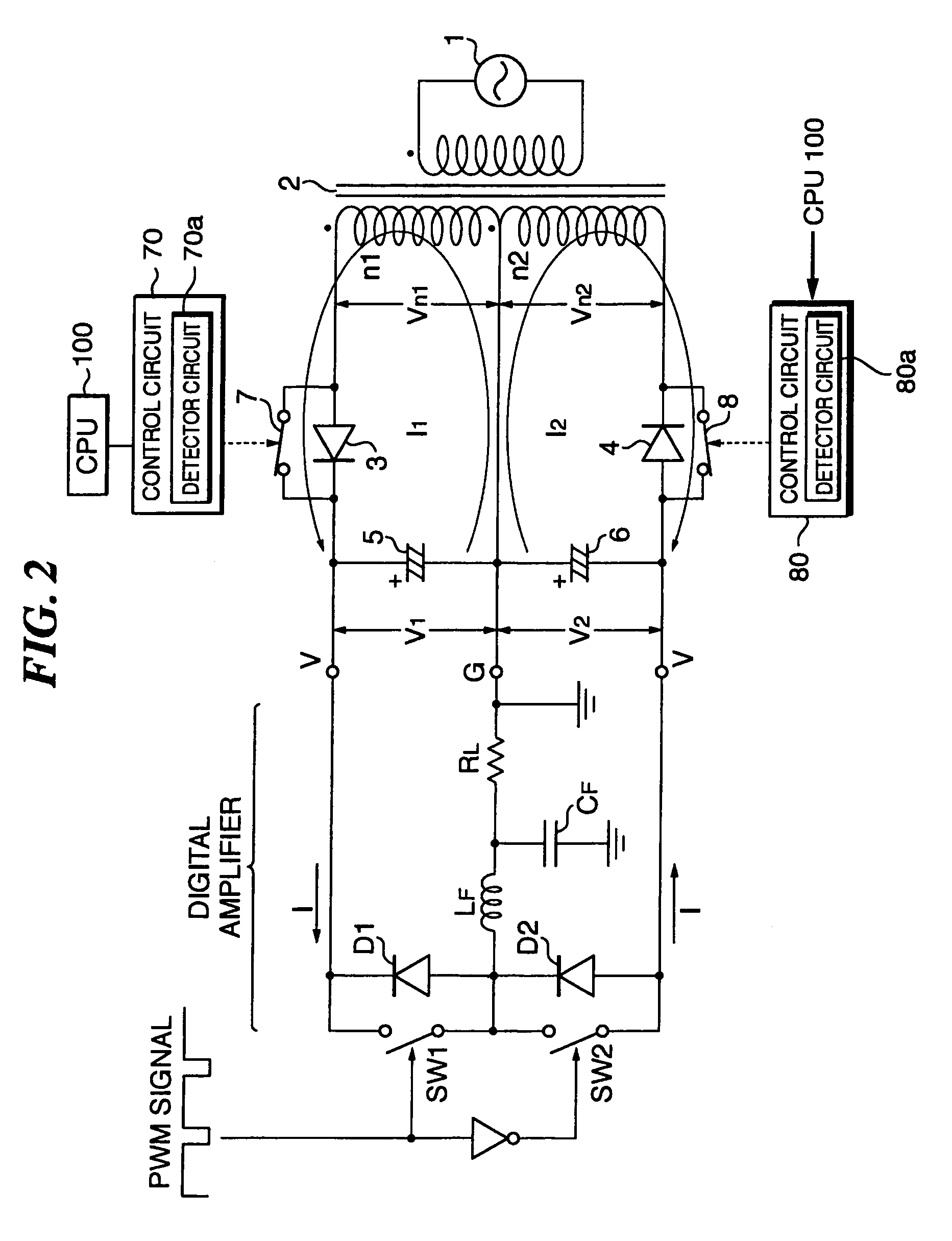 patent us7209374 - capacitor-input positive and negative power supply circuit