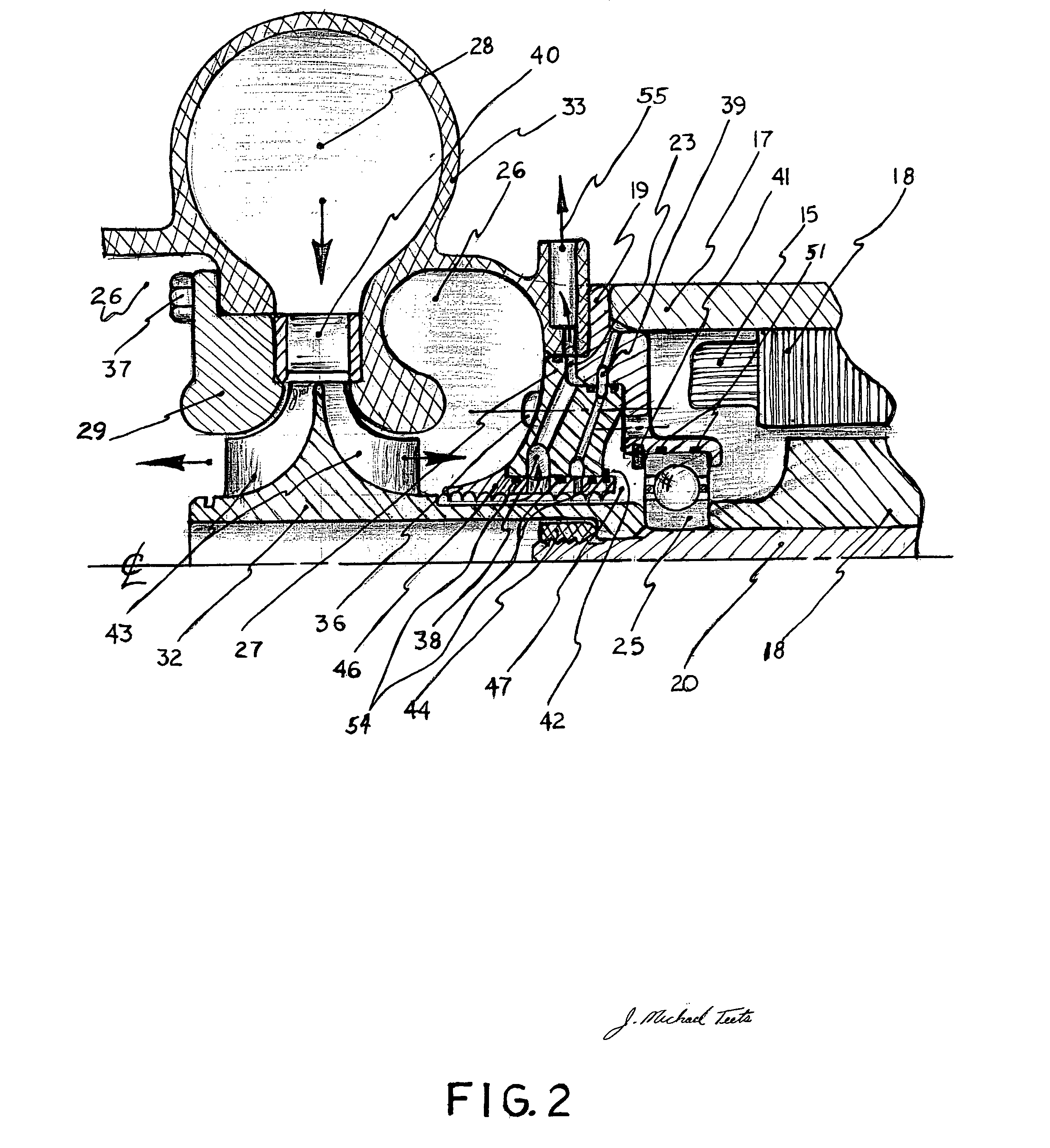 Patent US Rankine—microturbine for generating electricity
