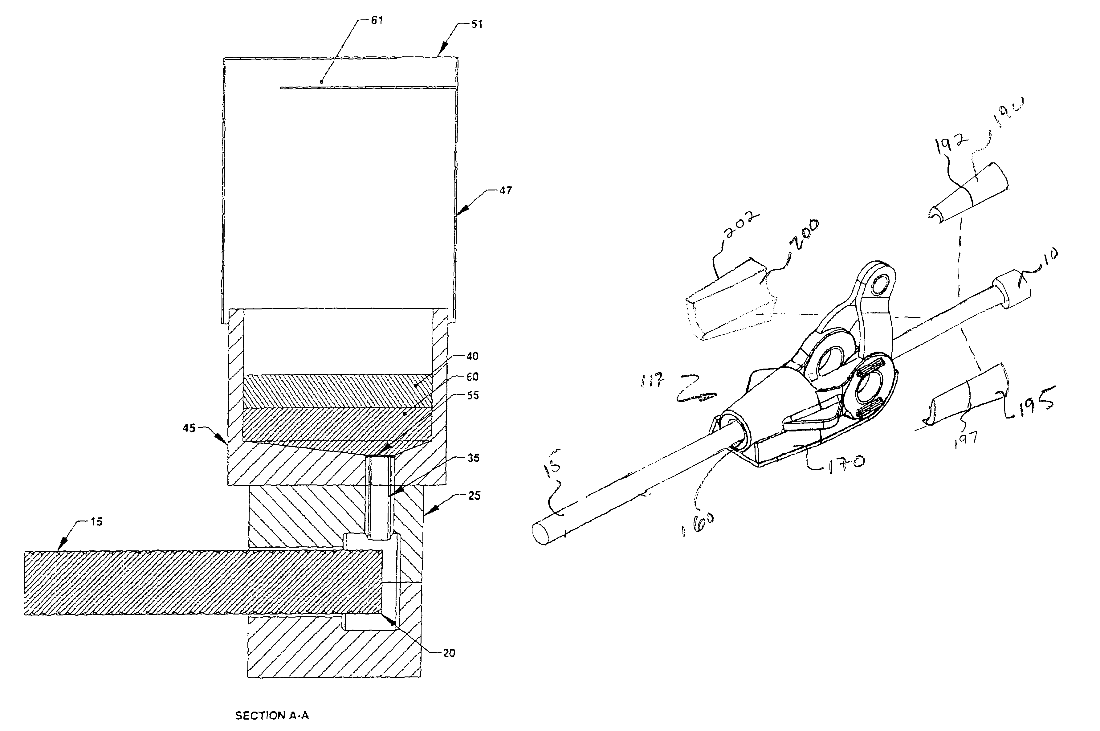 Patent US7231957 - System and method for termination of a wire ...