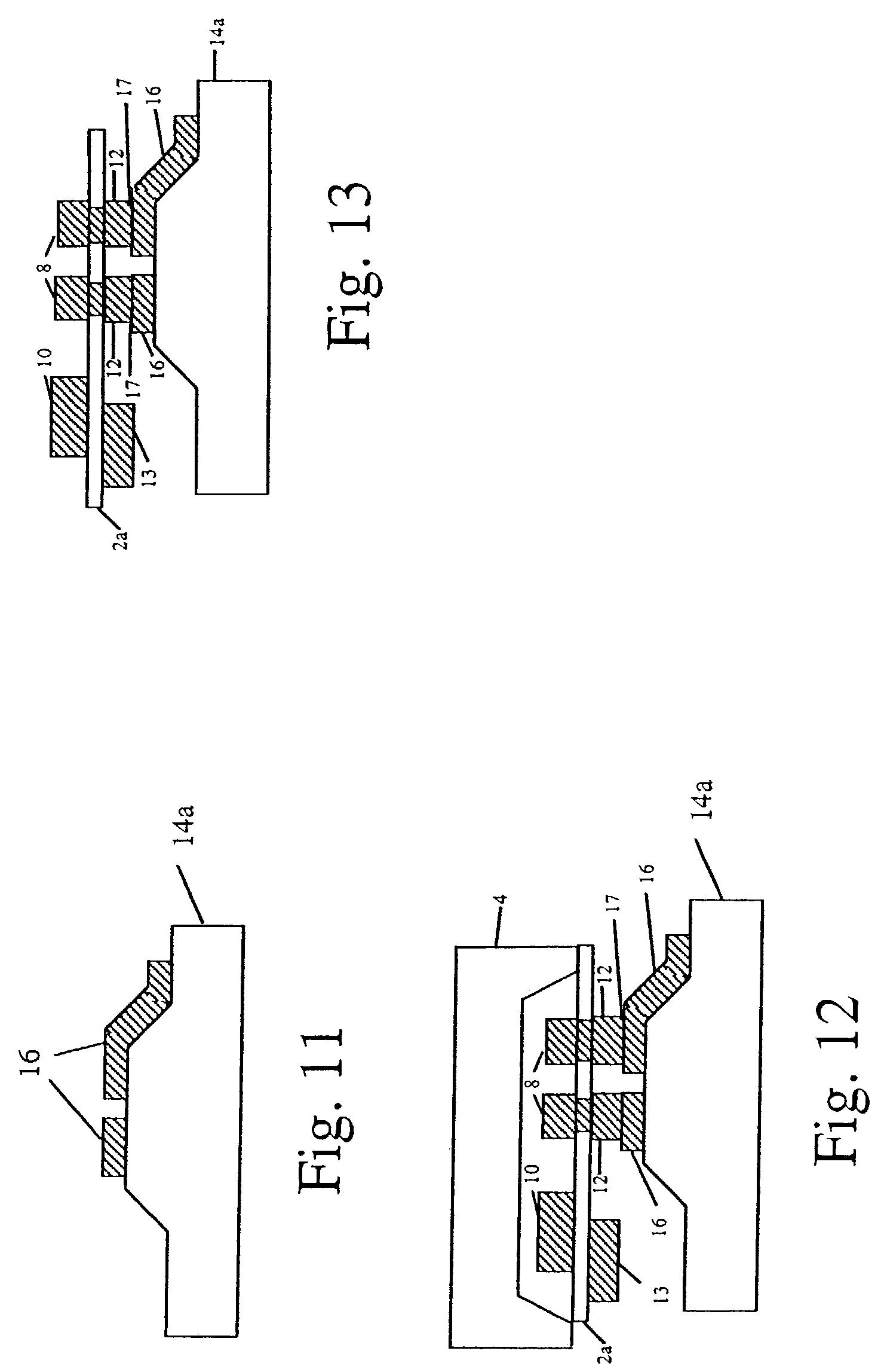 Brevet Us7237315 Method For Fabricating A Resonator Google Brevets 100mhz Quartz Crystal Oscillator Circuit Signalprocessing Patent Drawing