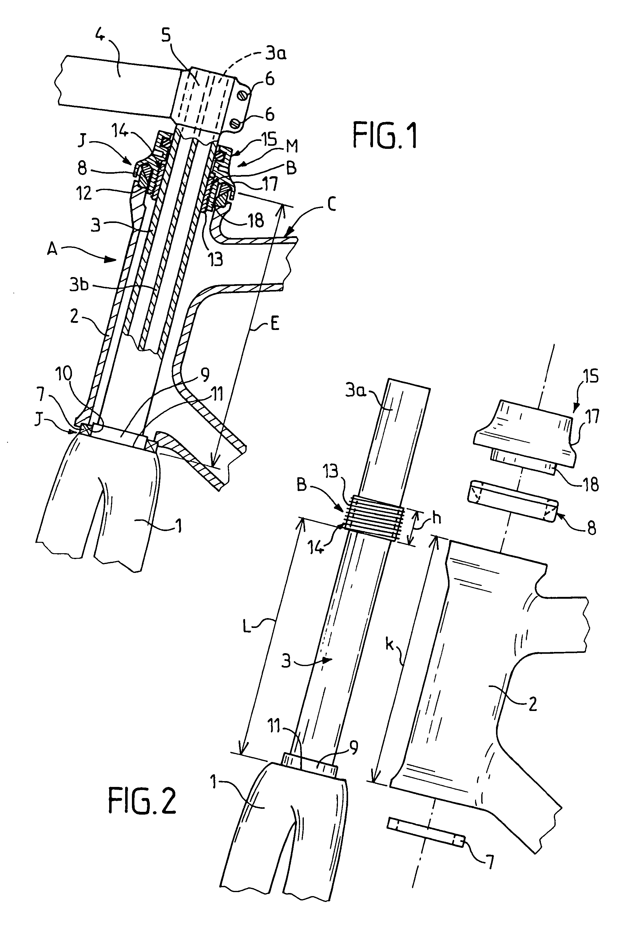 Patent US7237787 - Assembly comprising a bicycle fork and a ...