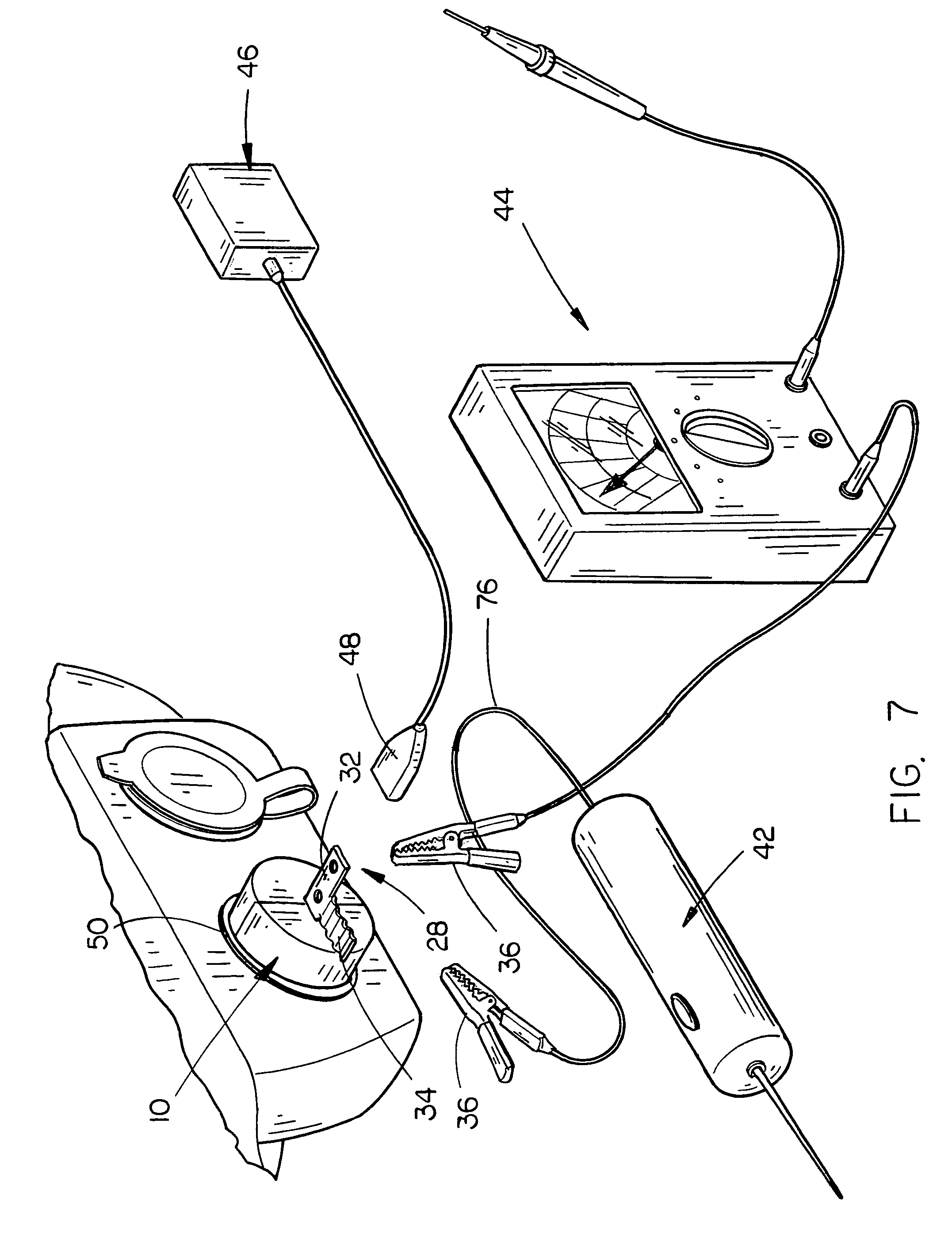 patent us7238058 - grounding plug