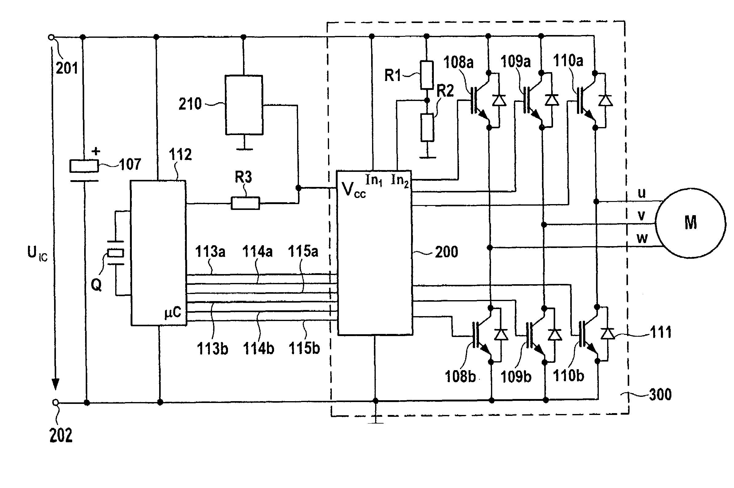 Patent US7239099 Circuit configuration and method for – Diehl Electric Motors Wiring Diagram