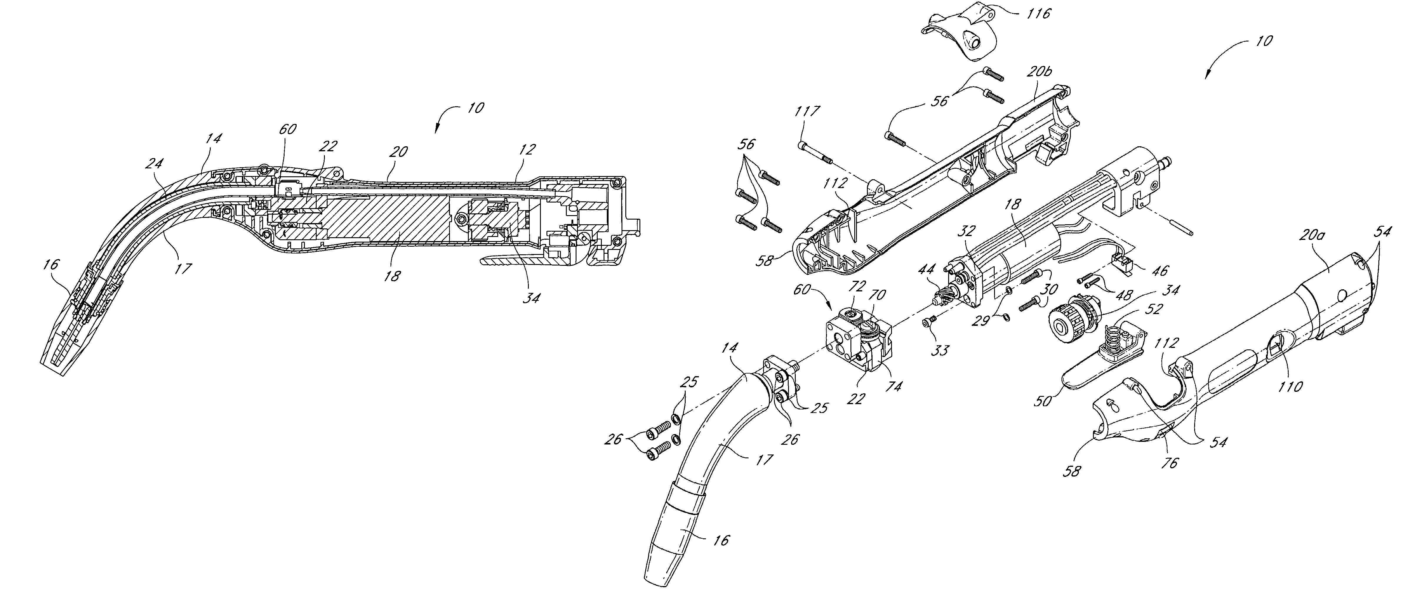 patent us7244909 - welding gun