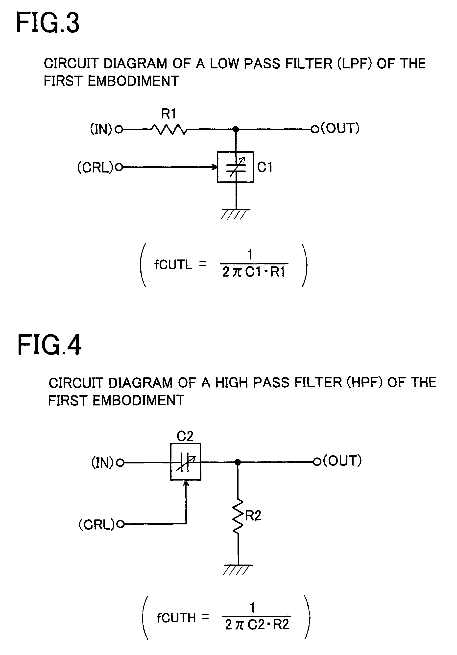 Patent Us7245178 Analog Filter Circuit And Adjustment Method Pass Diagram For High Drawing