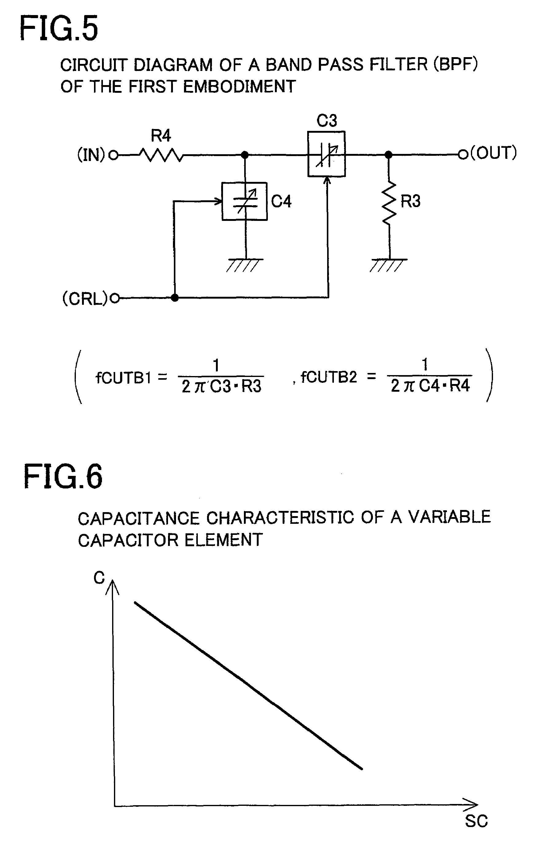 Patent Us7245178 Analog Filter Circuit And Adjustment Method Capacitor Drawing