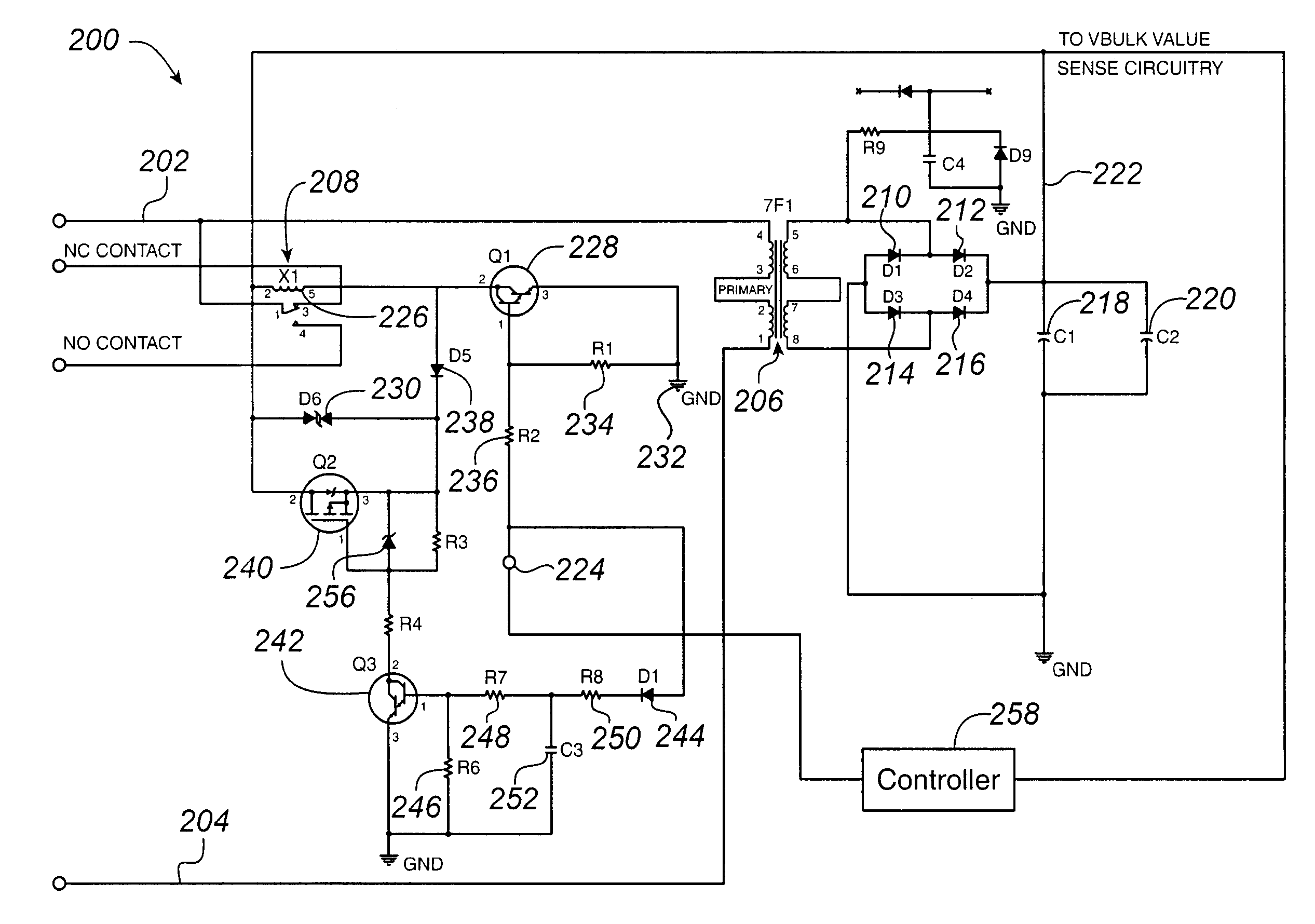 patent us7245475 wide input voltage range relay drive circuit patent drawing