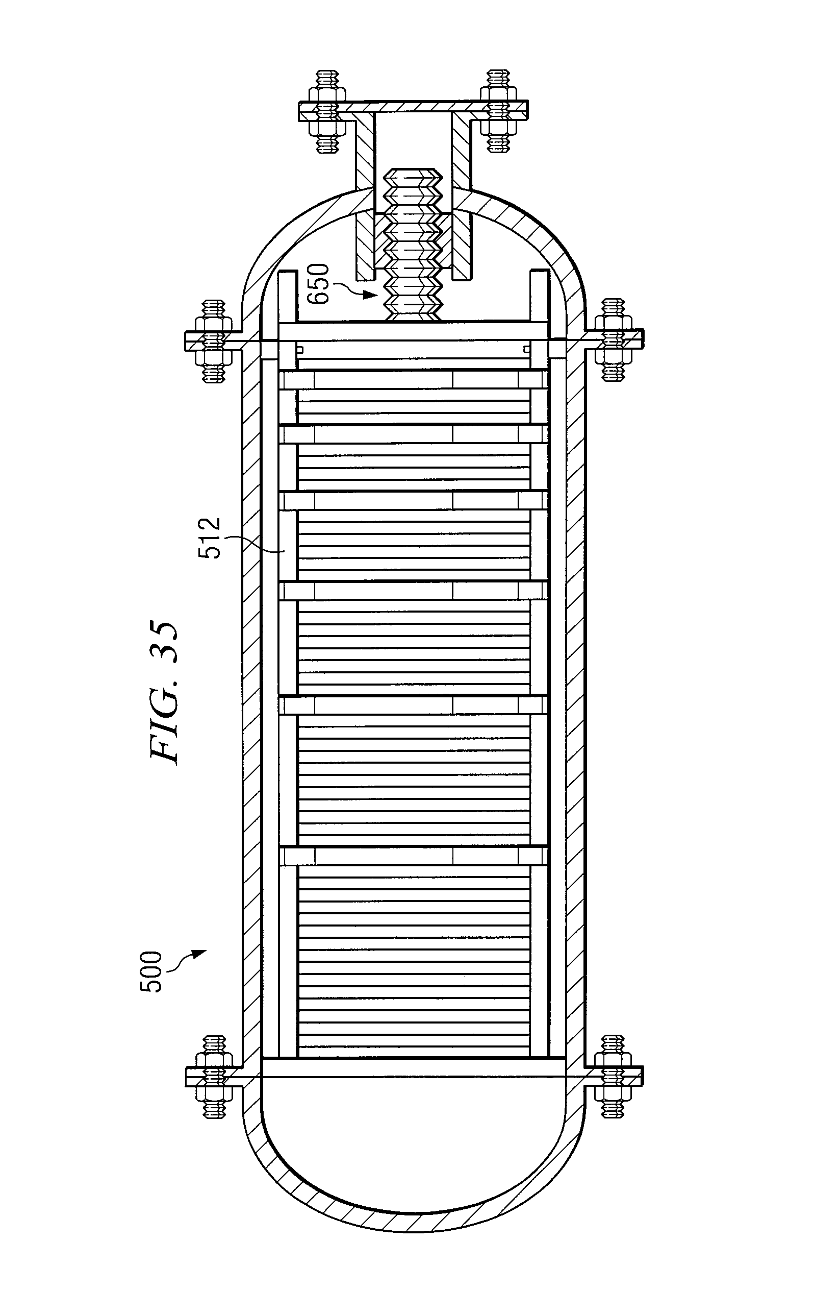 Patent US Vapor pression evaporation system and method