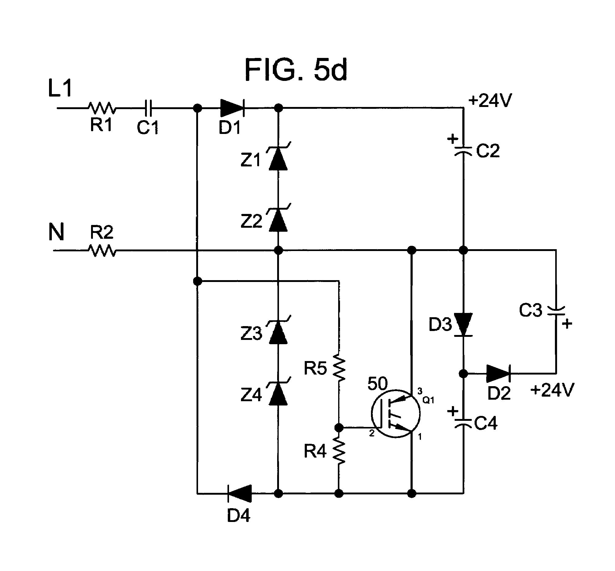Snap 24v Transformerless Power Supply Circuit Diagram Wiring