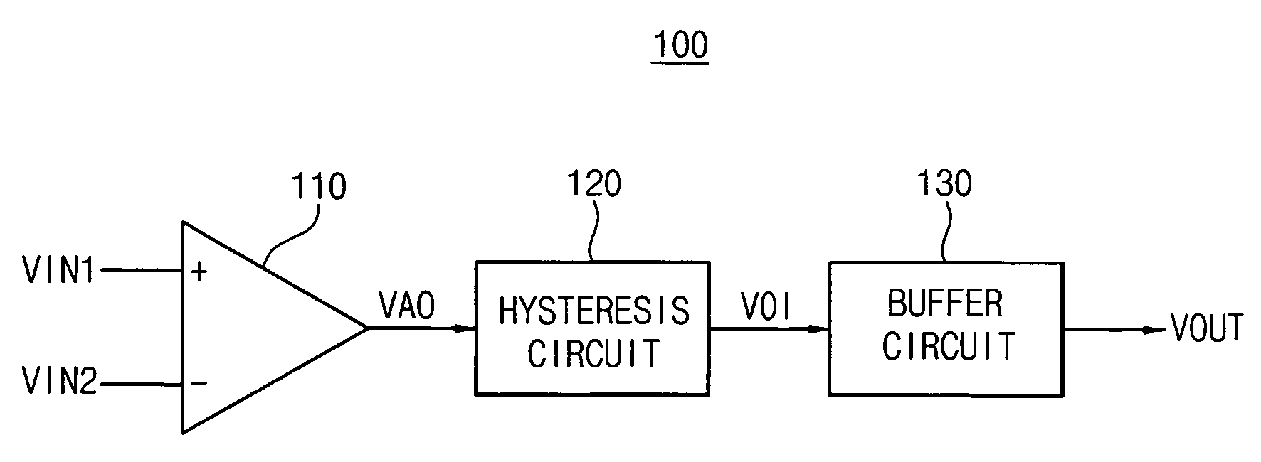 Patent Us7268604 Comparator With Hysteresis And Method Of Circuits Design Tool Drawing